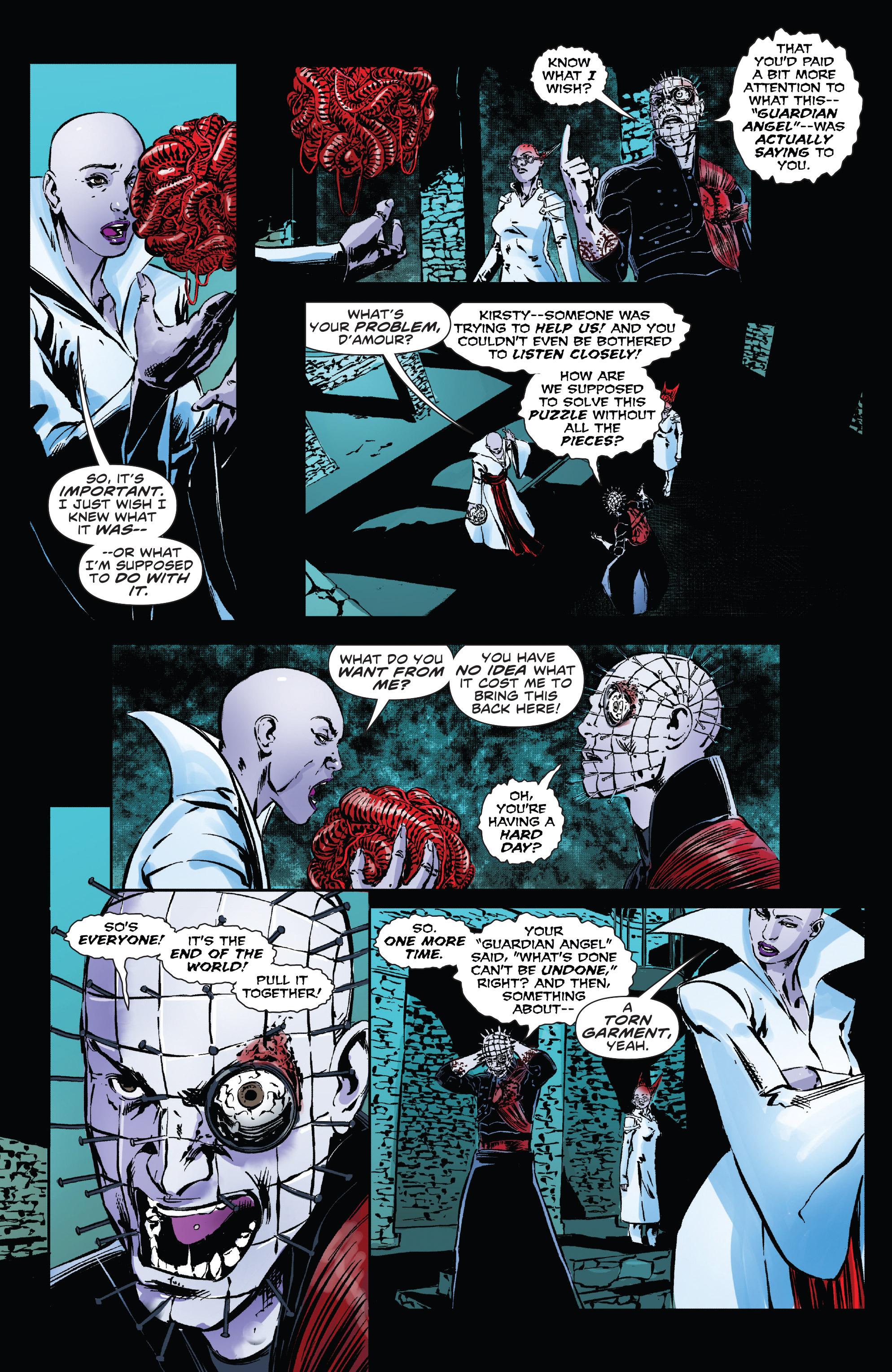 Read online Clive Barker's Hellraiser: The Dark Watch comic -  Issue # TPB 3 - 110