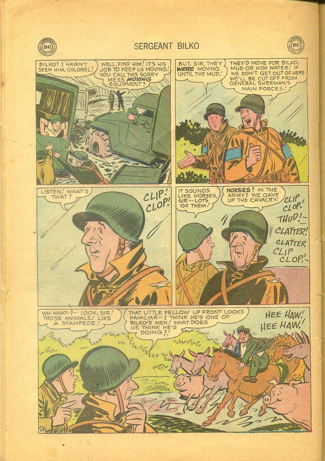 Sergeant Bilko issue 1 - Page 26