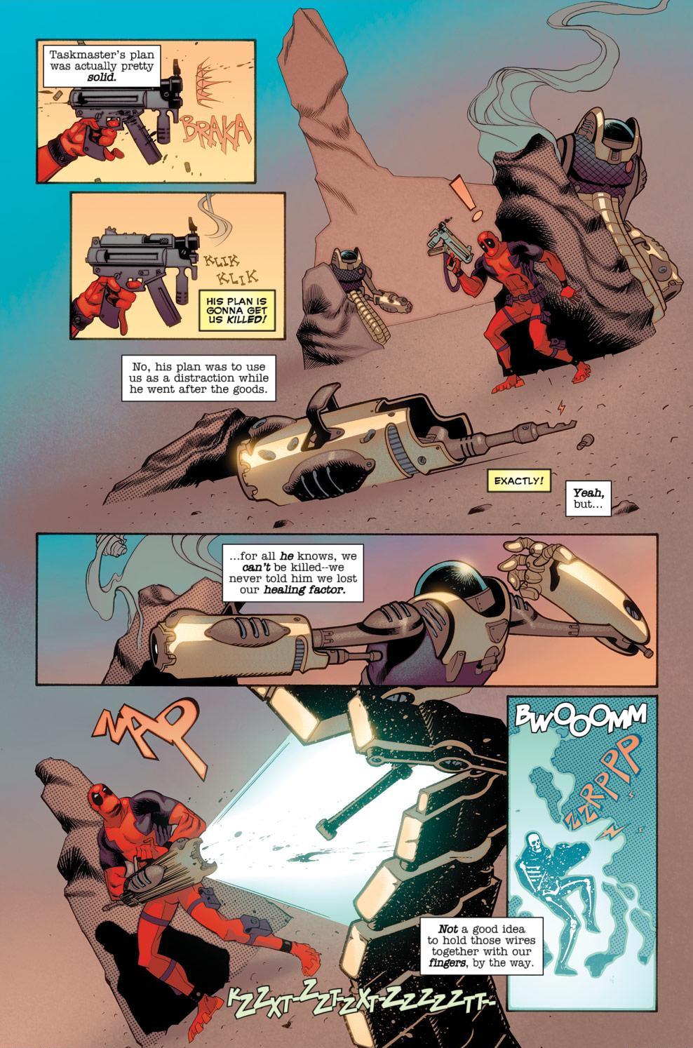 Read online Deadpool (2008) comic -  Issue #56 - 19