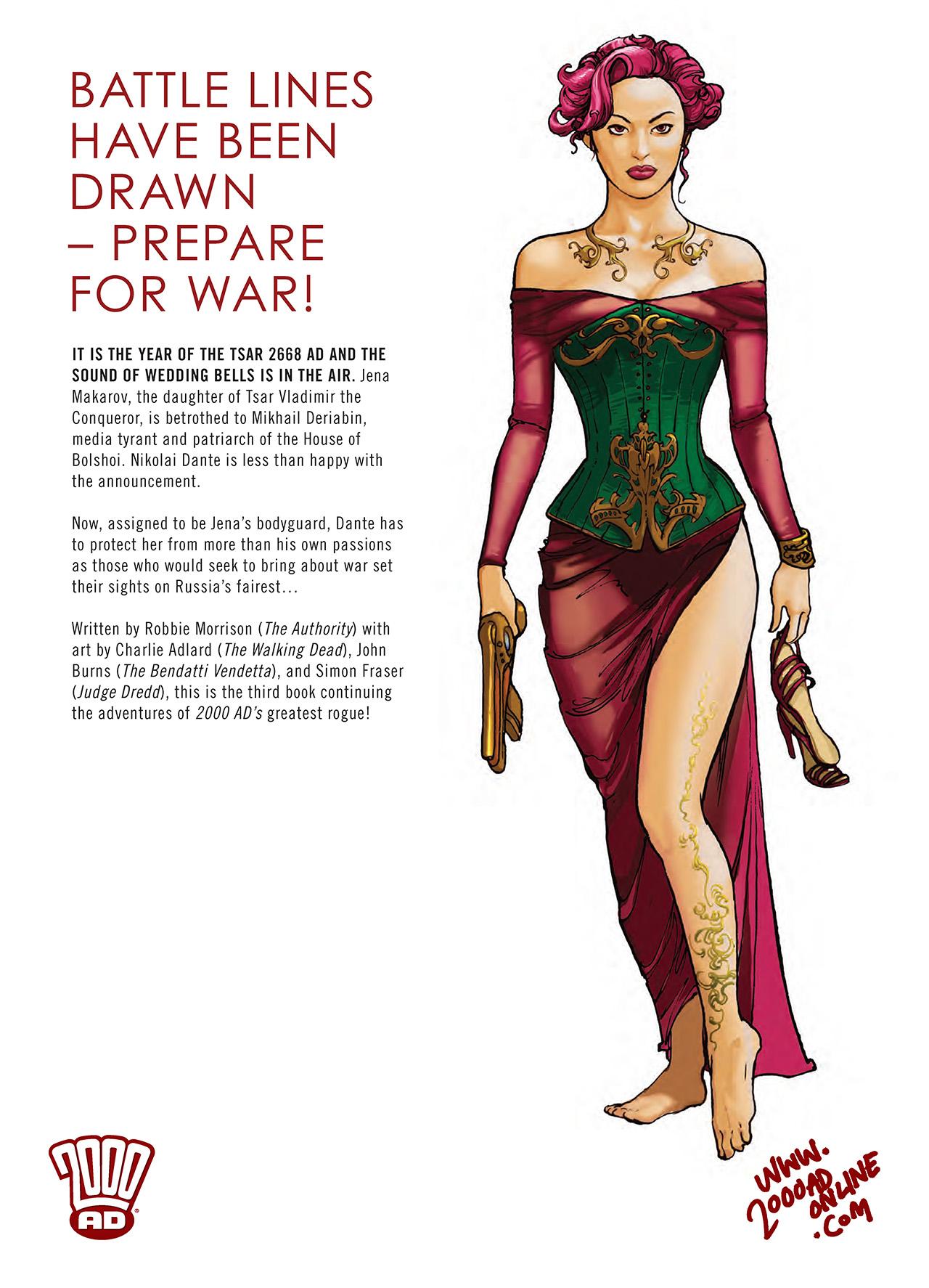 Read online Nikolai Dante comic -  Issue # TPB 3 - 148