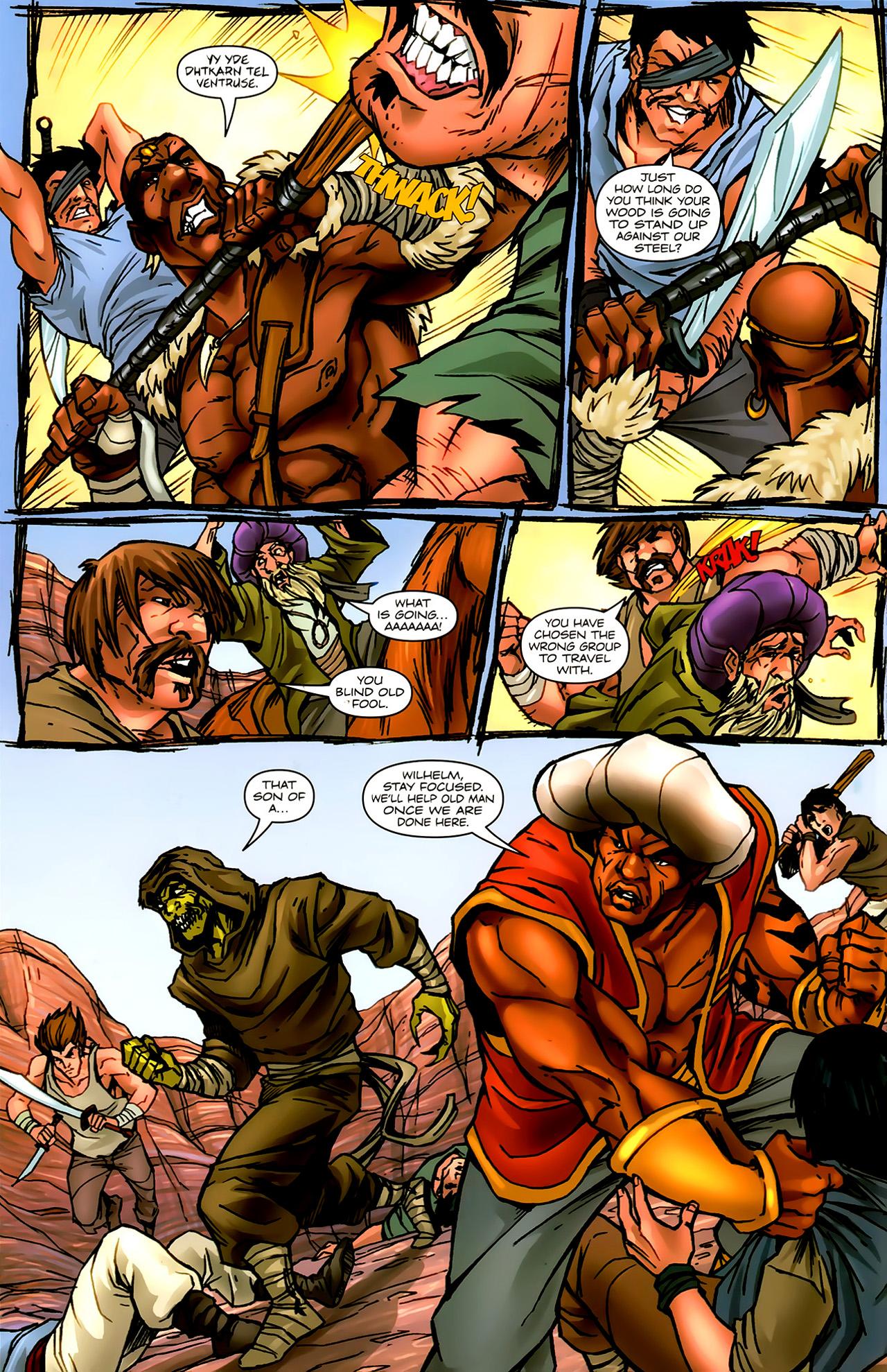Read online 1001 Arabian Nights: The Adventures of Sinbad comic -  Issue #9 - 16