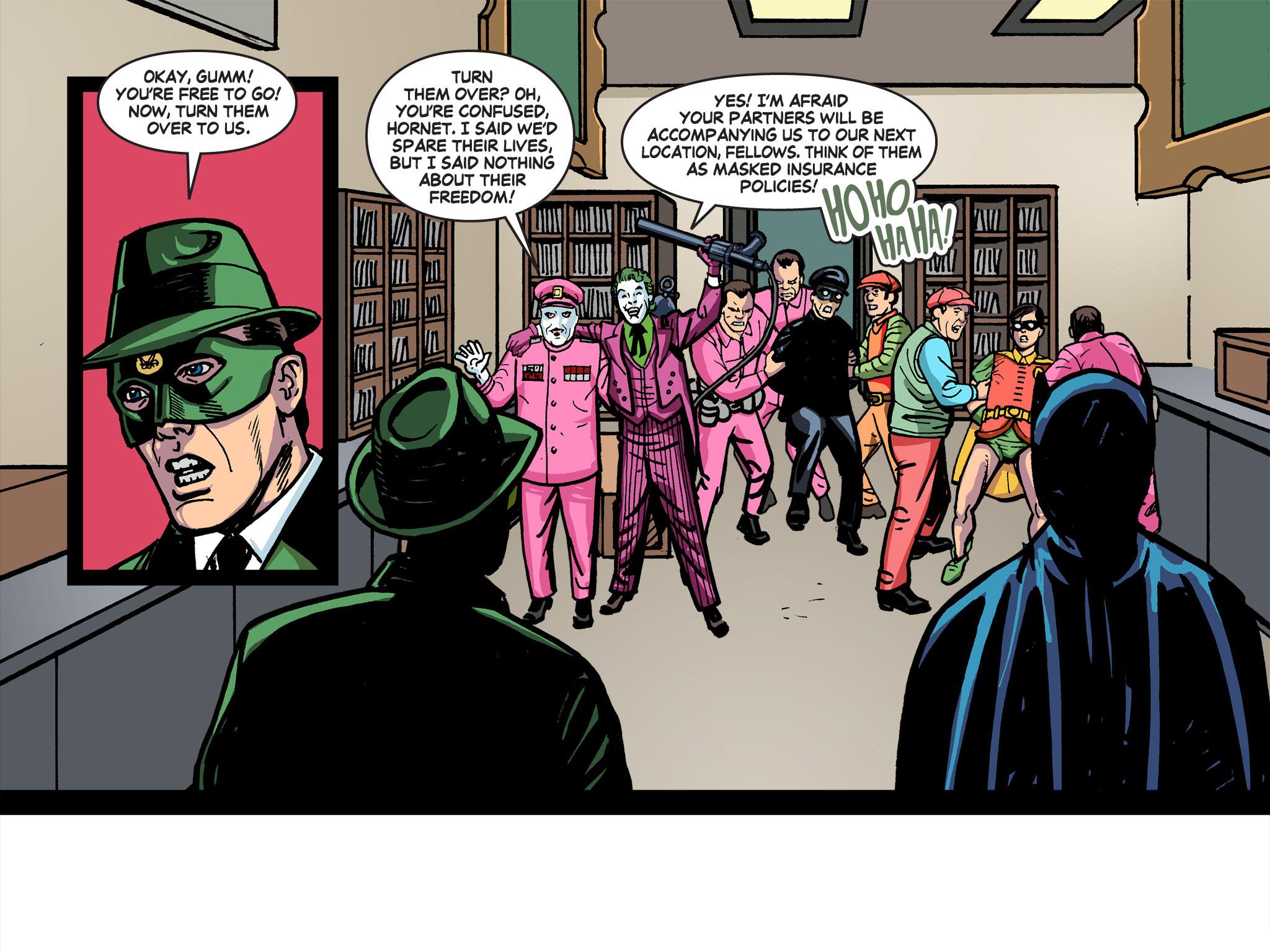 Read online Batman '66 Meets the Green Hornet [II] comic -  Issue #5 - 21