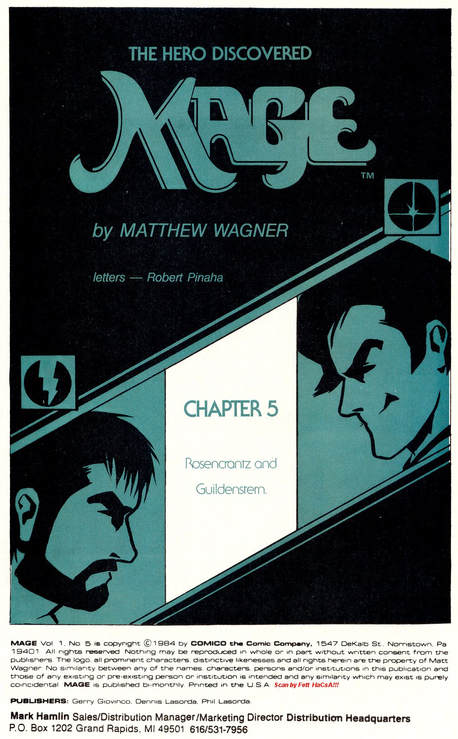 Read online Mage: The Hero Discovered comic -  Issue #5 - 3