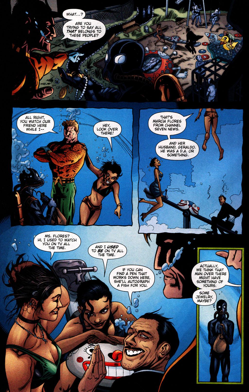 Read online Aquaman (2003) comic -  Issue #25 - 8