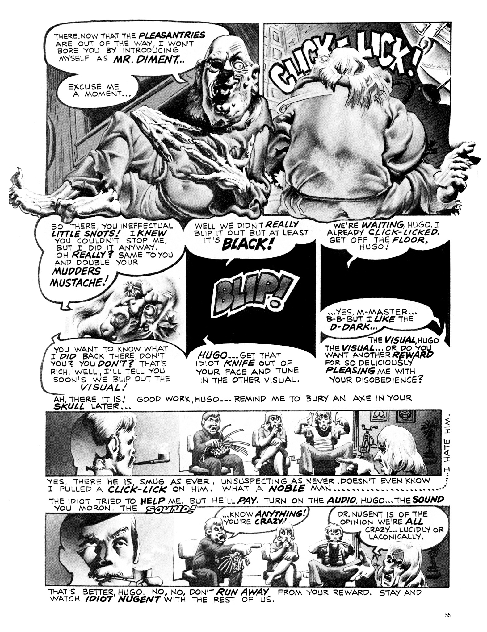 Read online Eerie Archives comic -  Issue # TPB 18 - 56
