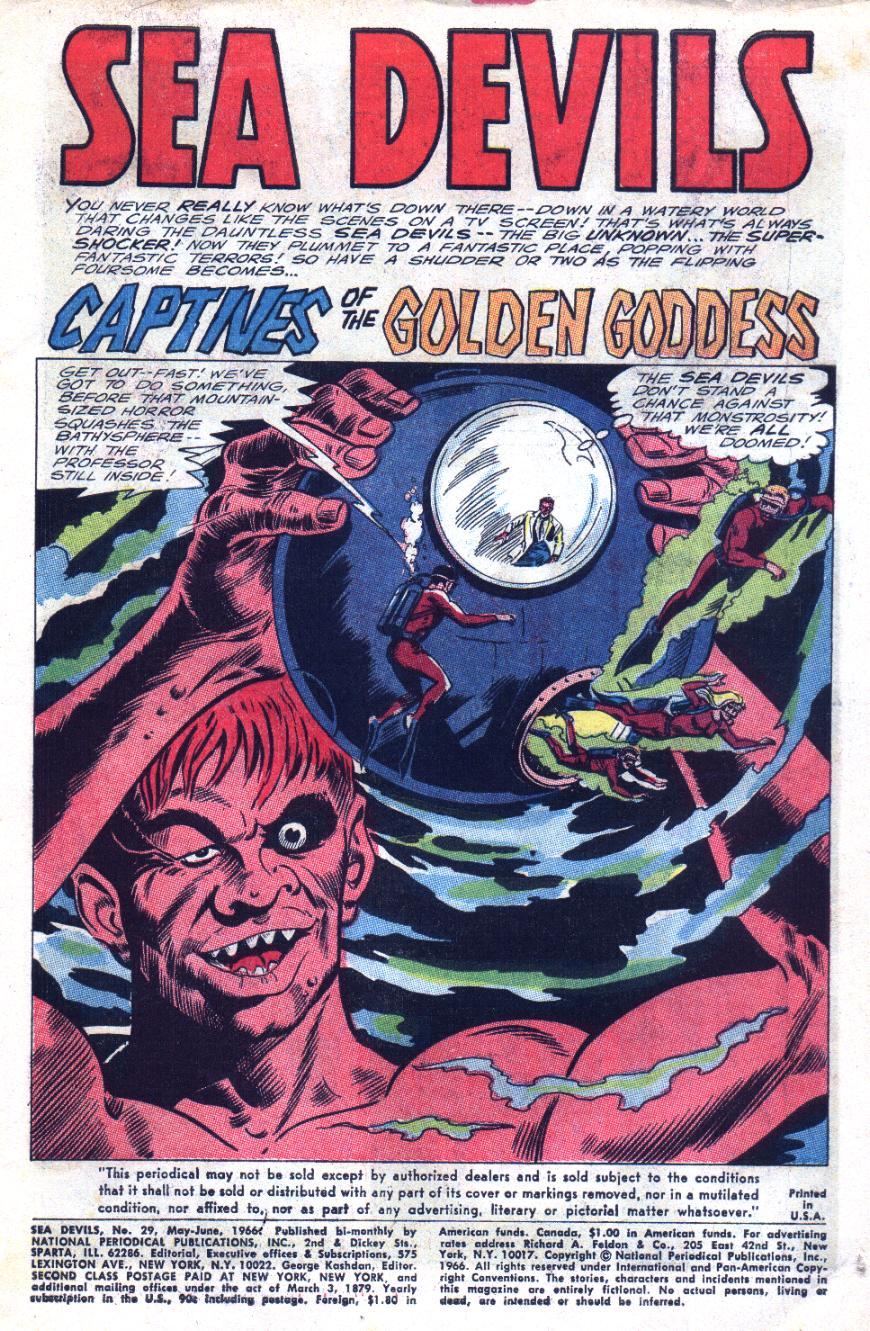 Read online Sea Devils comic -  Issue #29 - 4