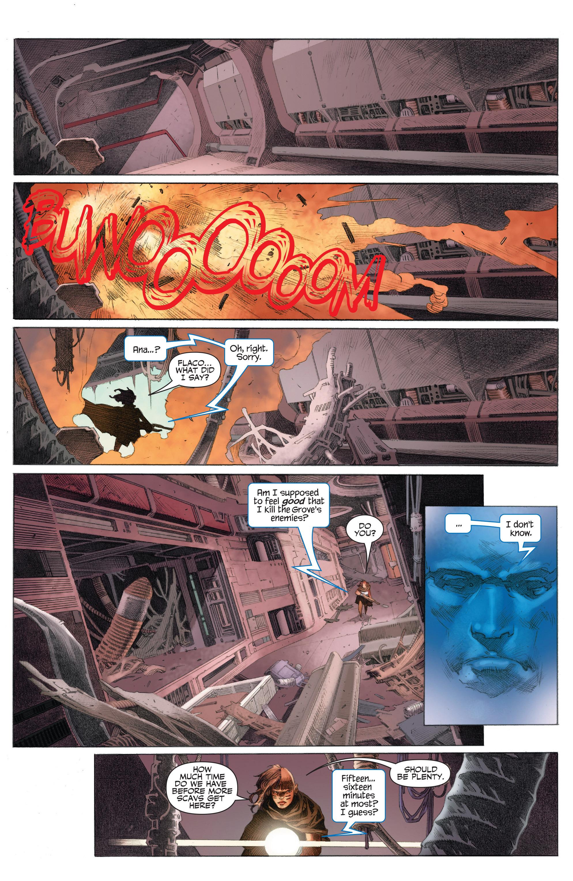 Read online 4001 A.D.: War Mother comic -  Issue #4001 A.D.: War Mother Full - 12