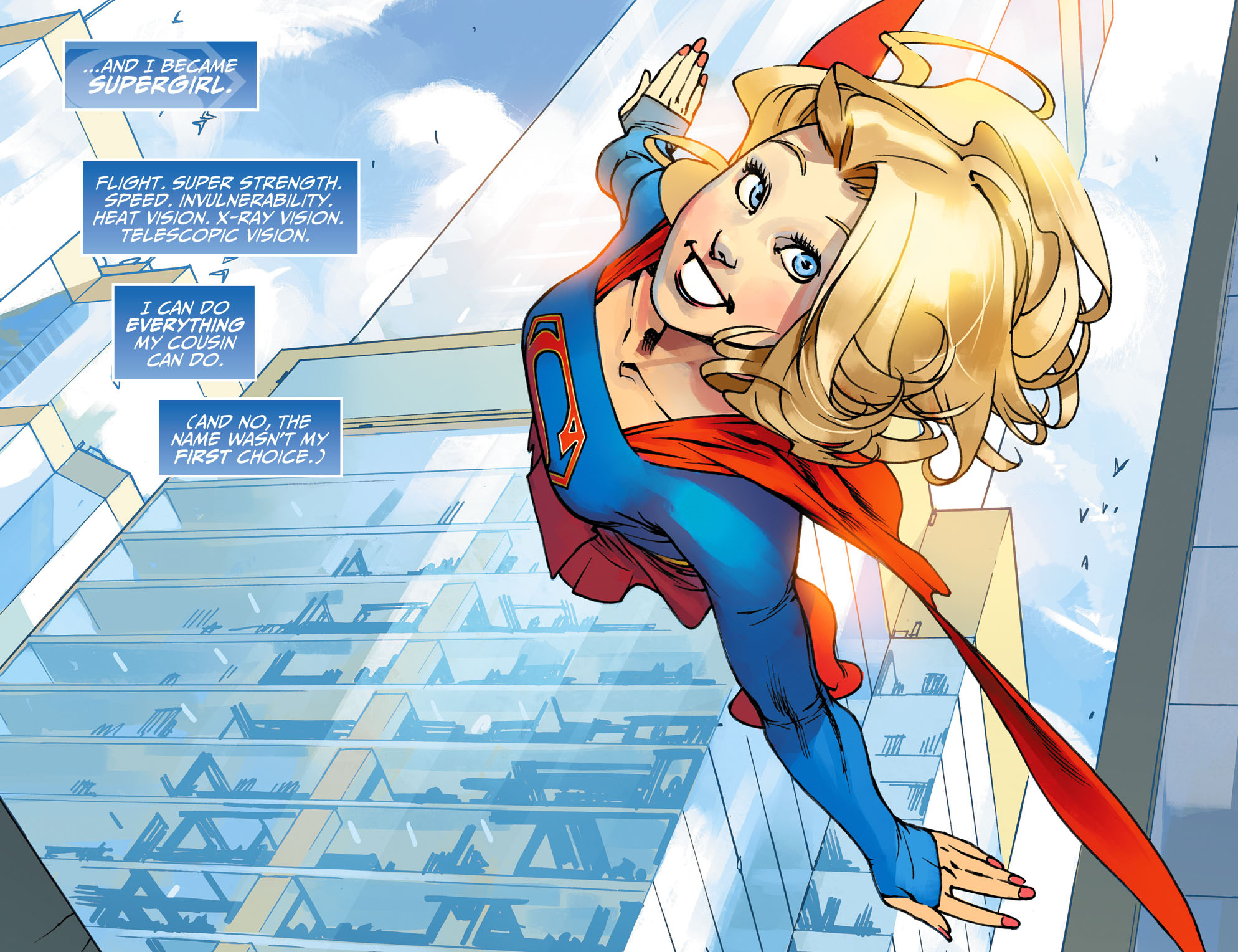 Read online Adventures of Supergirl comic -  Issue #1 - 12