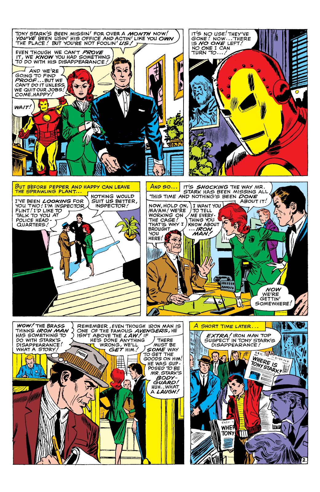 Read online Marvel Masterworks: The Invincible Iron Man comic -  Issue # TPB 2 (Part 2) - 73