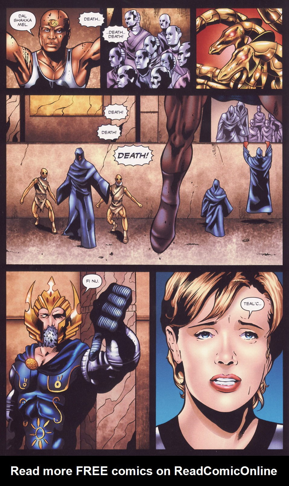 Read online Stargate SG-1: Fall of Rome comic -  Issue #3 - 10