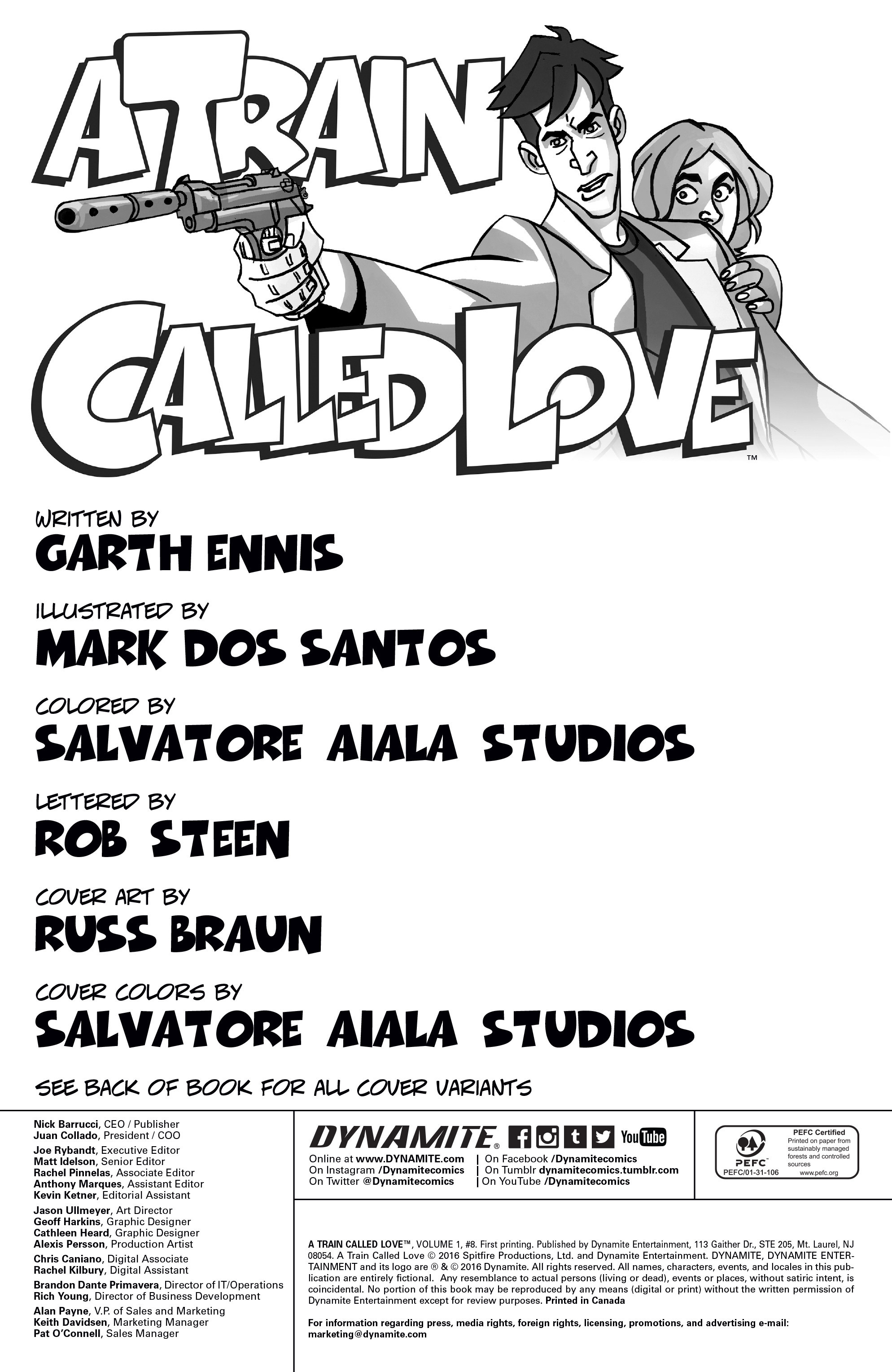 Read online A Train Called Love comic -  Issue #8 - 2