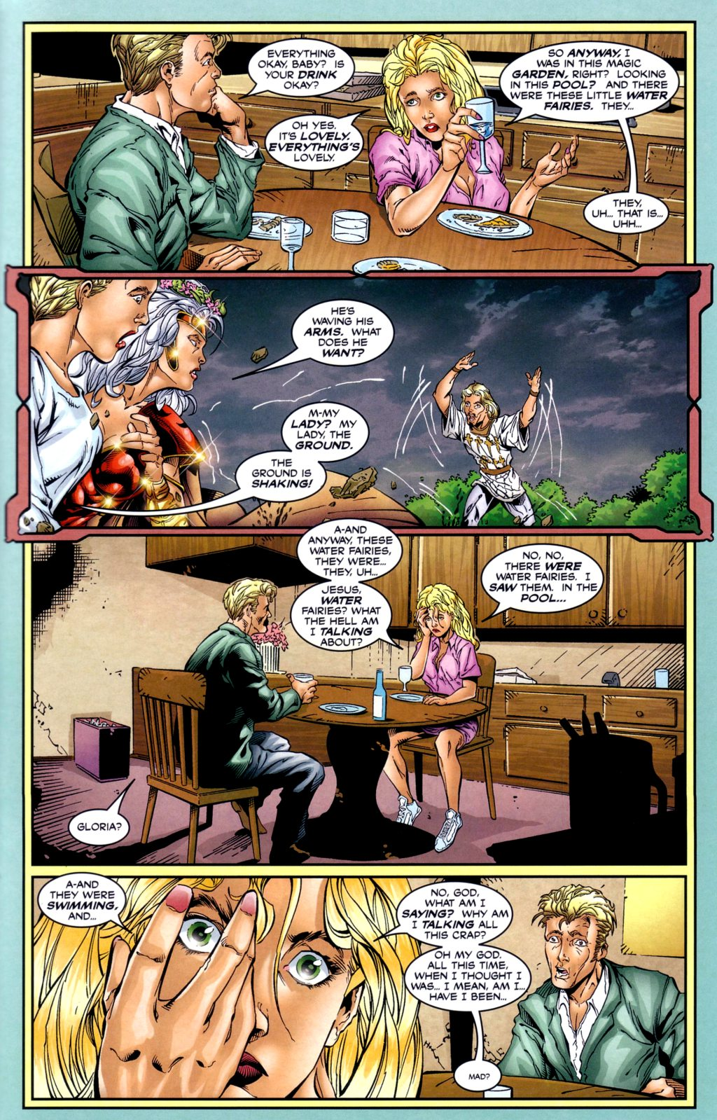 Read online Alan Moore's Glory comic -  Issue #2 - 23