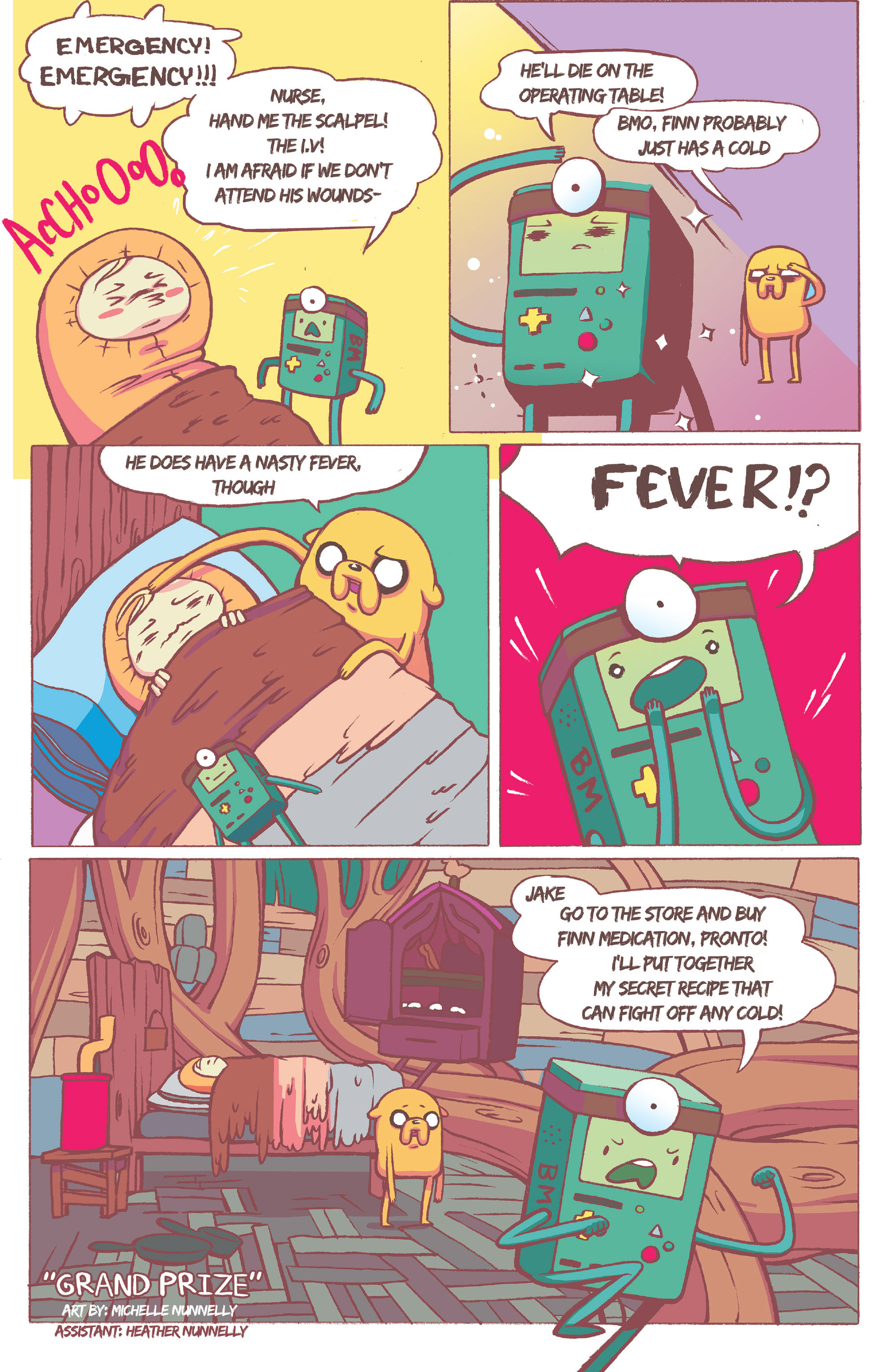 Read online Adventure Time comic -  Issue #36 - 19