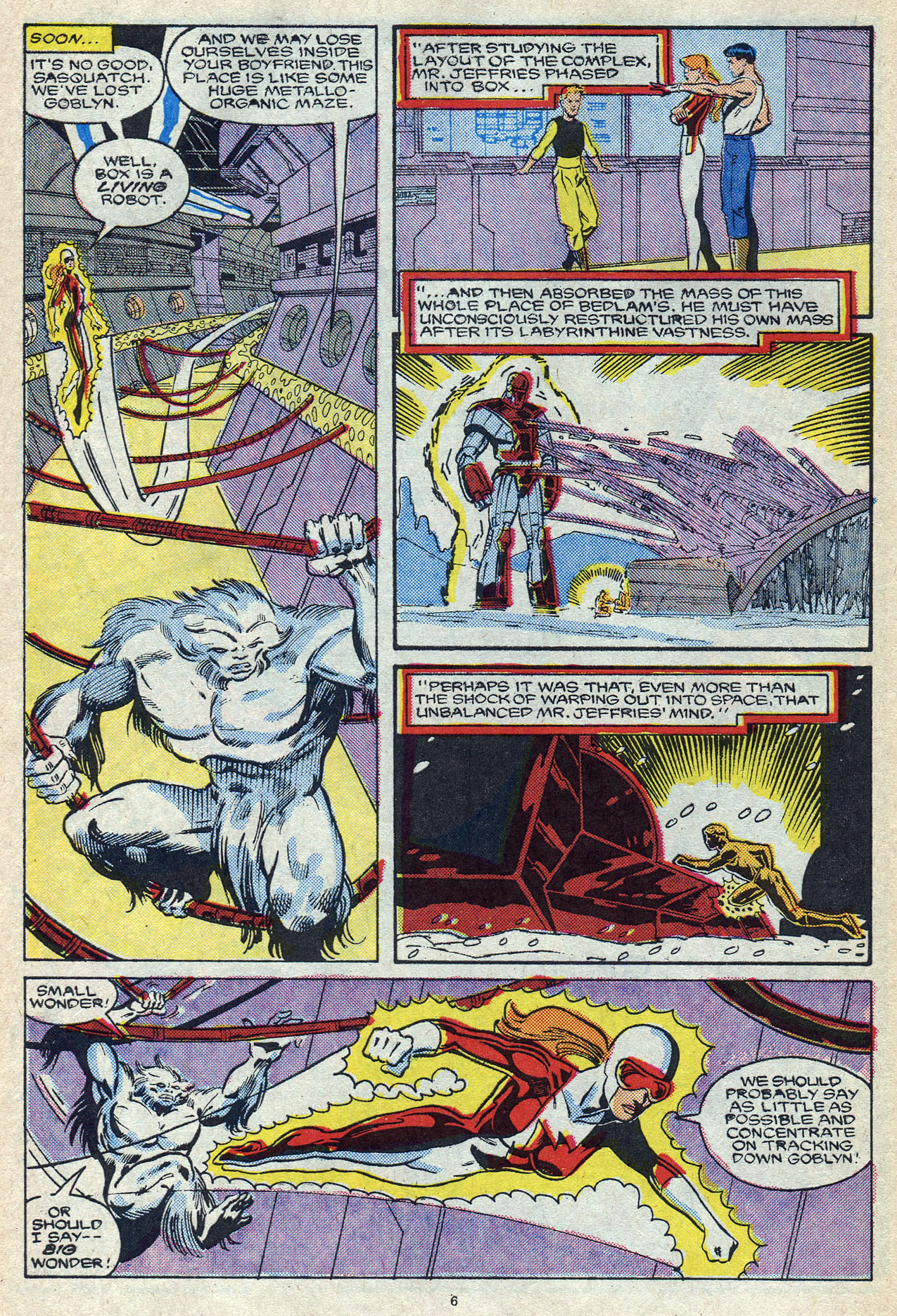 Read online Alpha Flight (1983) comic -  Issue #56 - 10