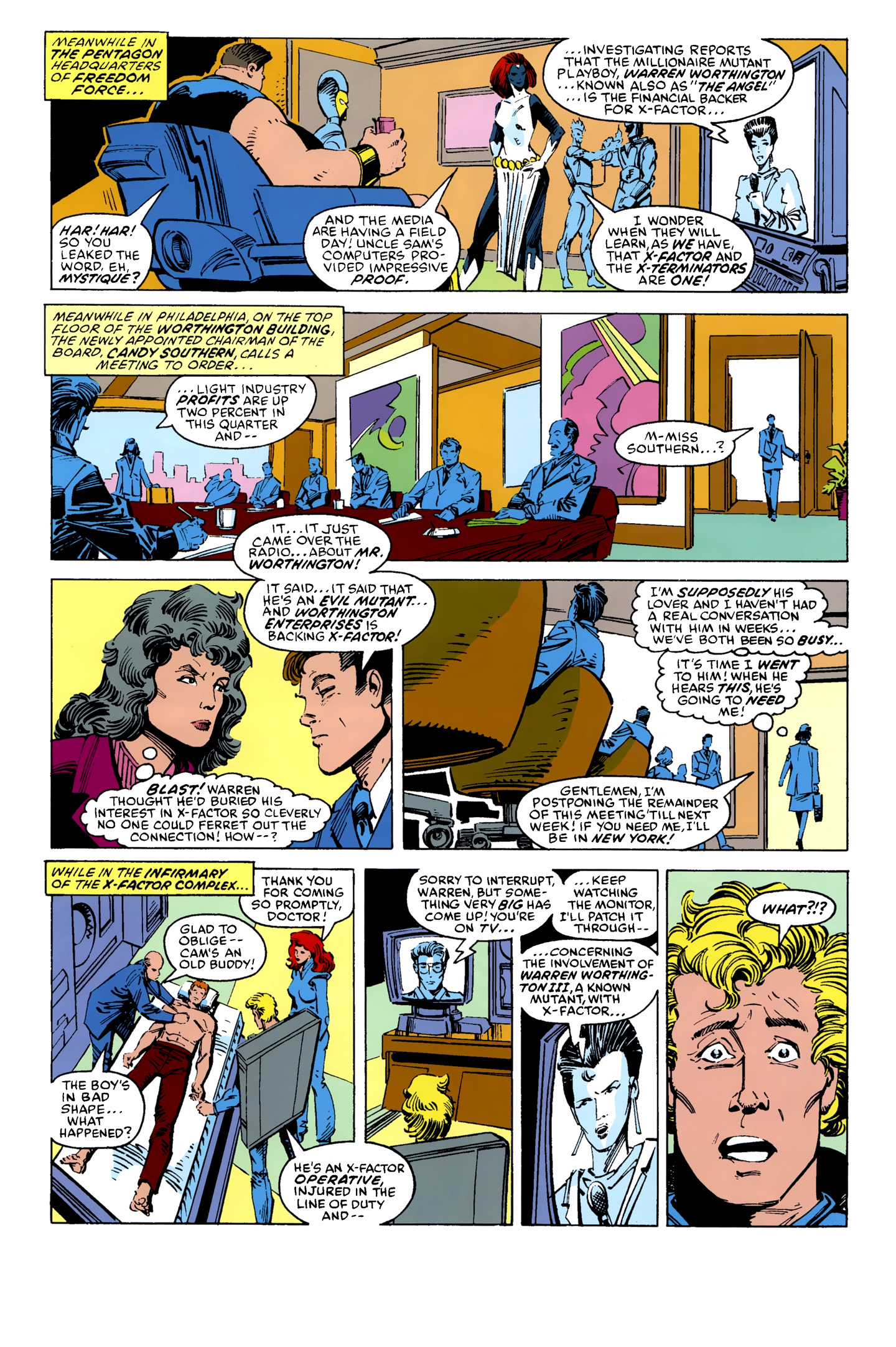 Read online X-Factor (1986) comic -  Issue #10 - 11
