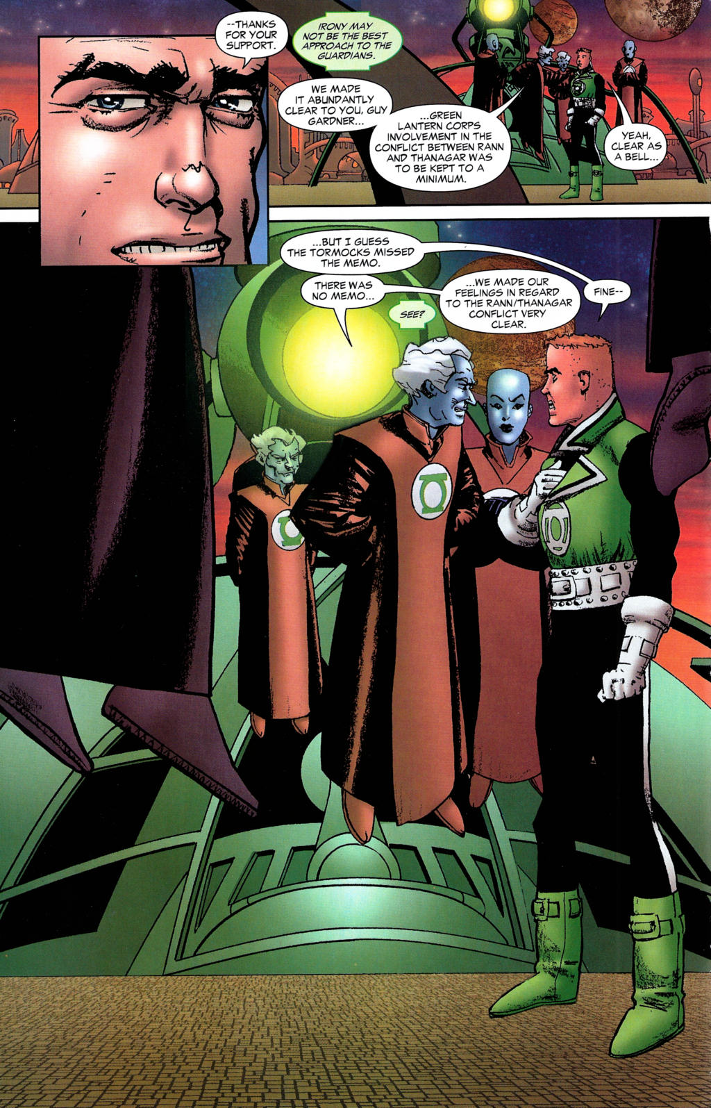 Read online Guy Gardner: Collateral Damage comic -  Issue #2 - 9