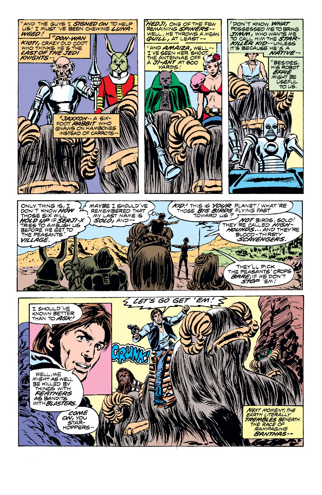 Read online Star Wars Legends: The Original Marvel Years - Epic Collection comic -  Issue # TPB 1 (Part 2) - 56