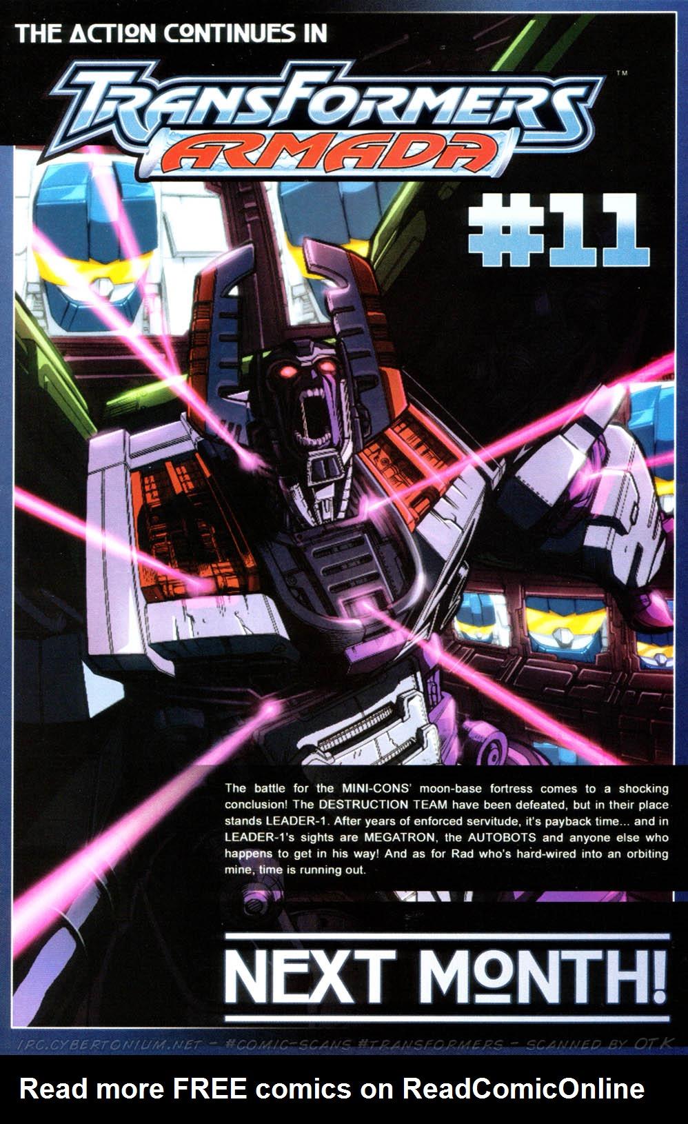 Read online Transformers Armada comic -  Issue #10 - 25