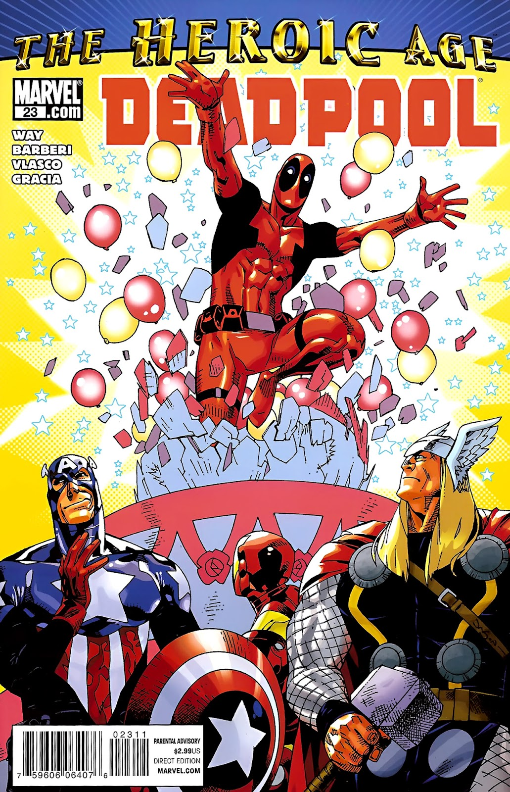 Read online Deadpool (2008) comic -  Issue #23 - 1