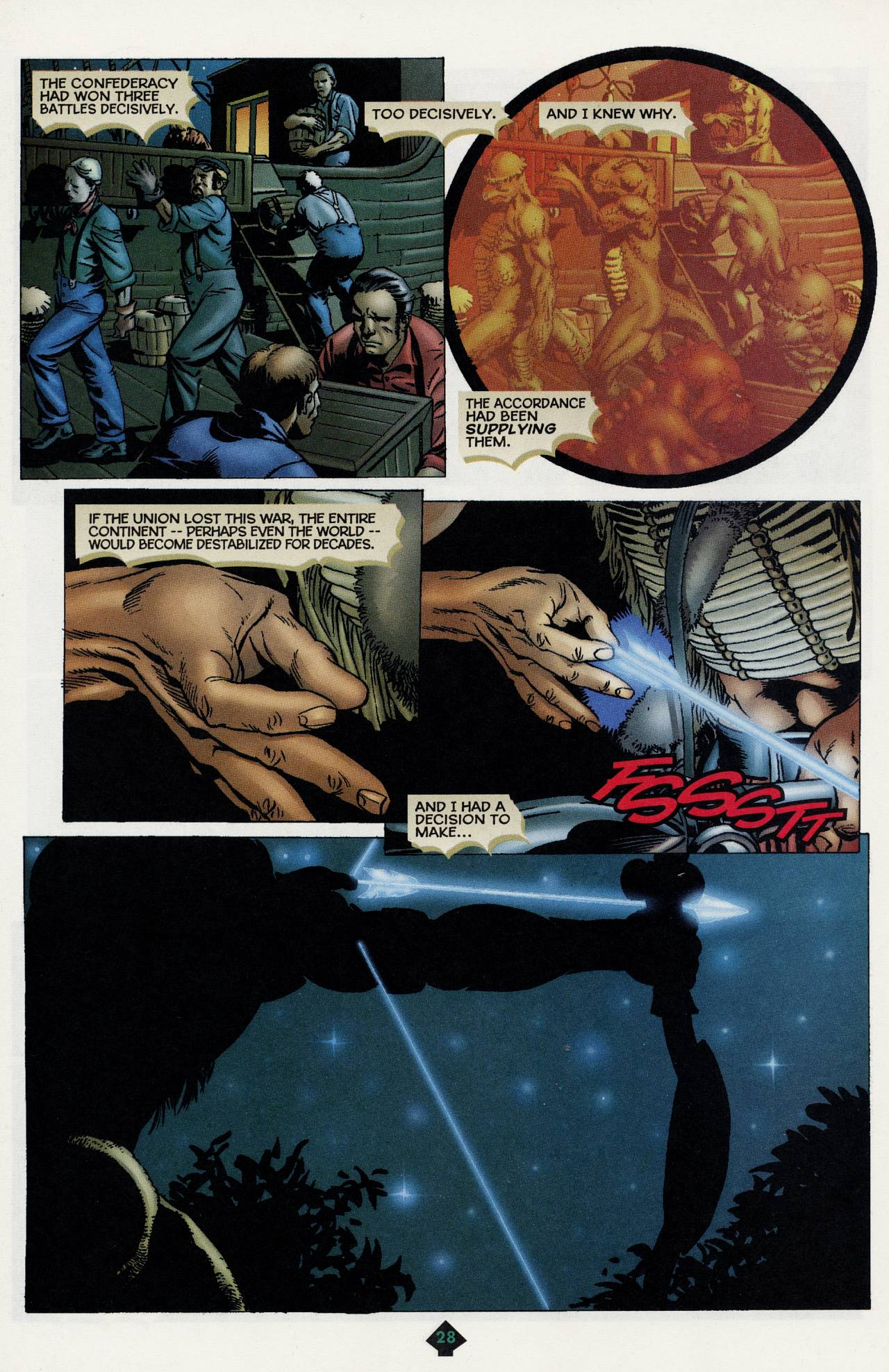Read online Turok: Tales of the Lost Land comic -  Issue # Full - 25