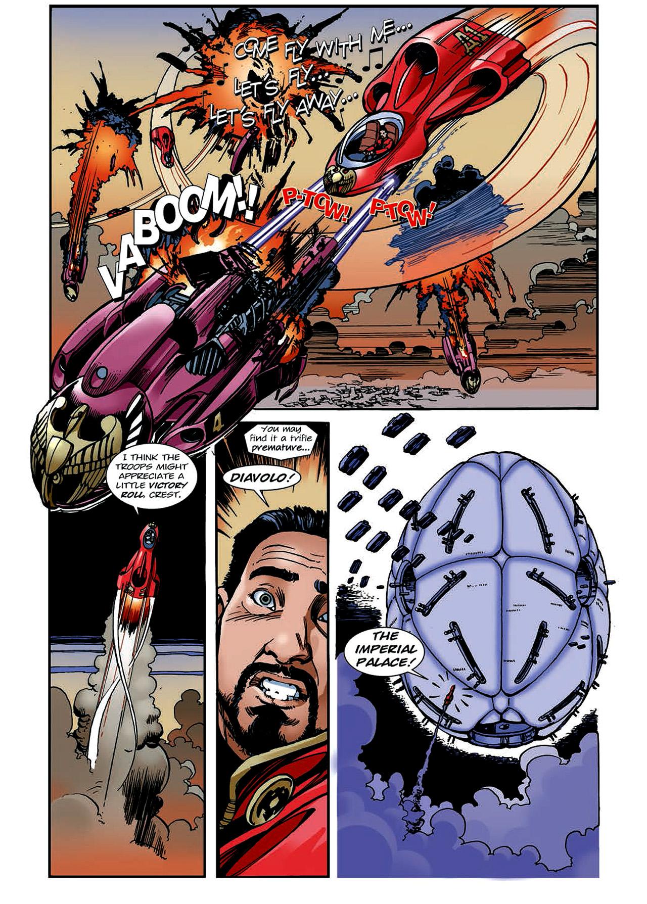Read online Nikolai Dante comic -  Issue # TPB 4 - 131