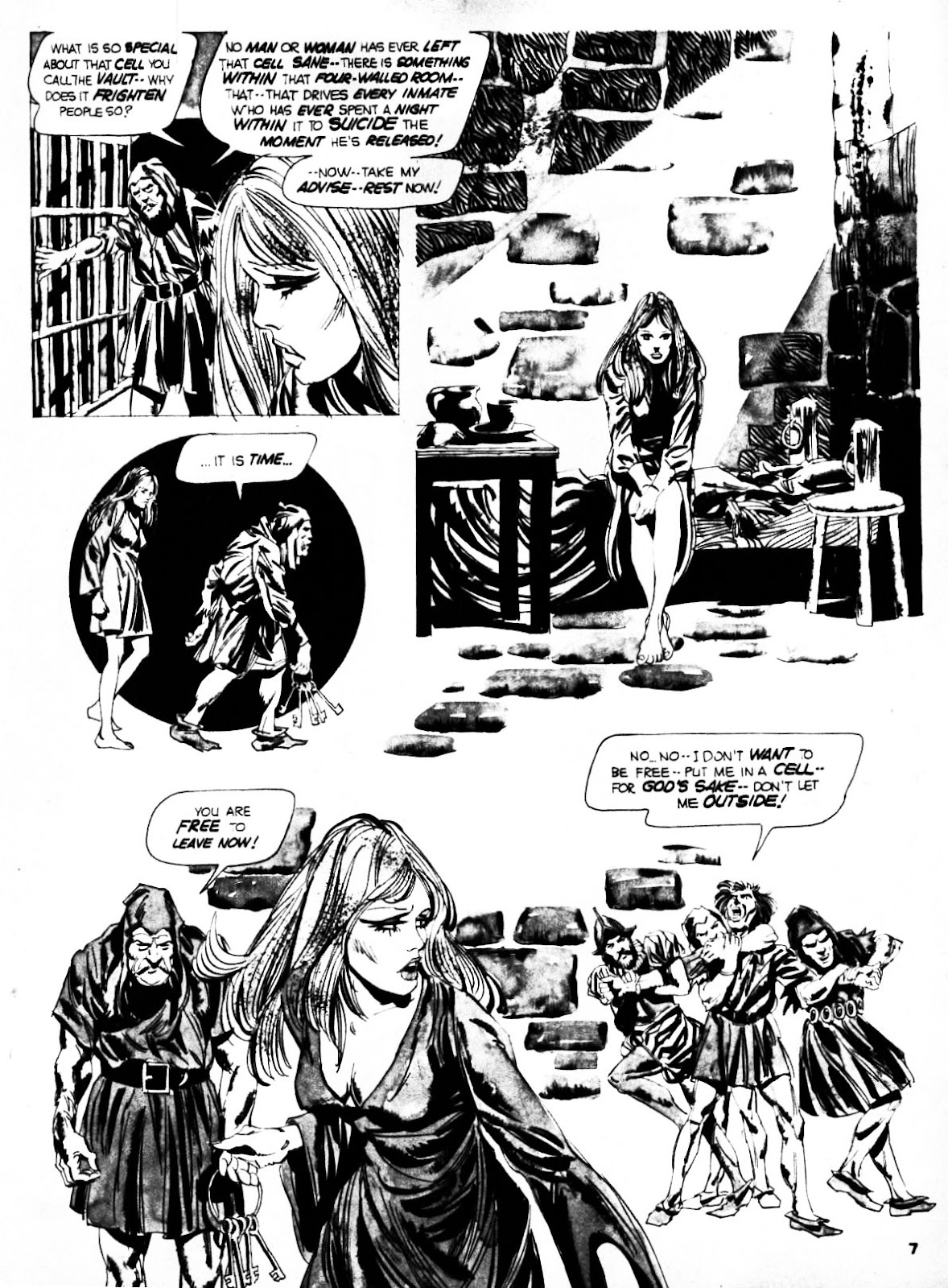 Nightmare (1970) issue 21 - Page 7