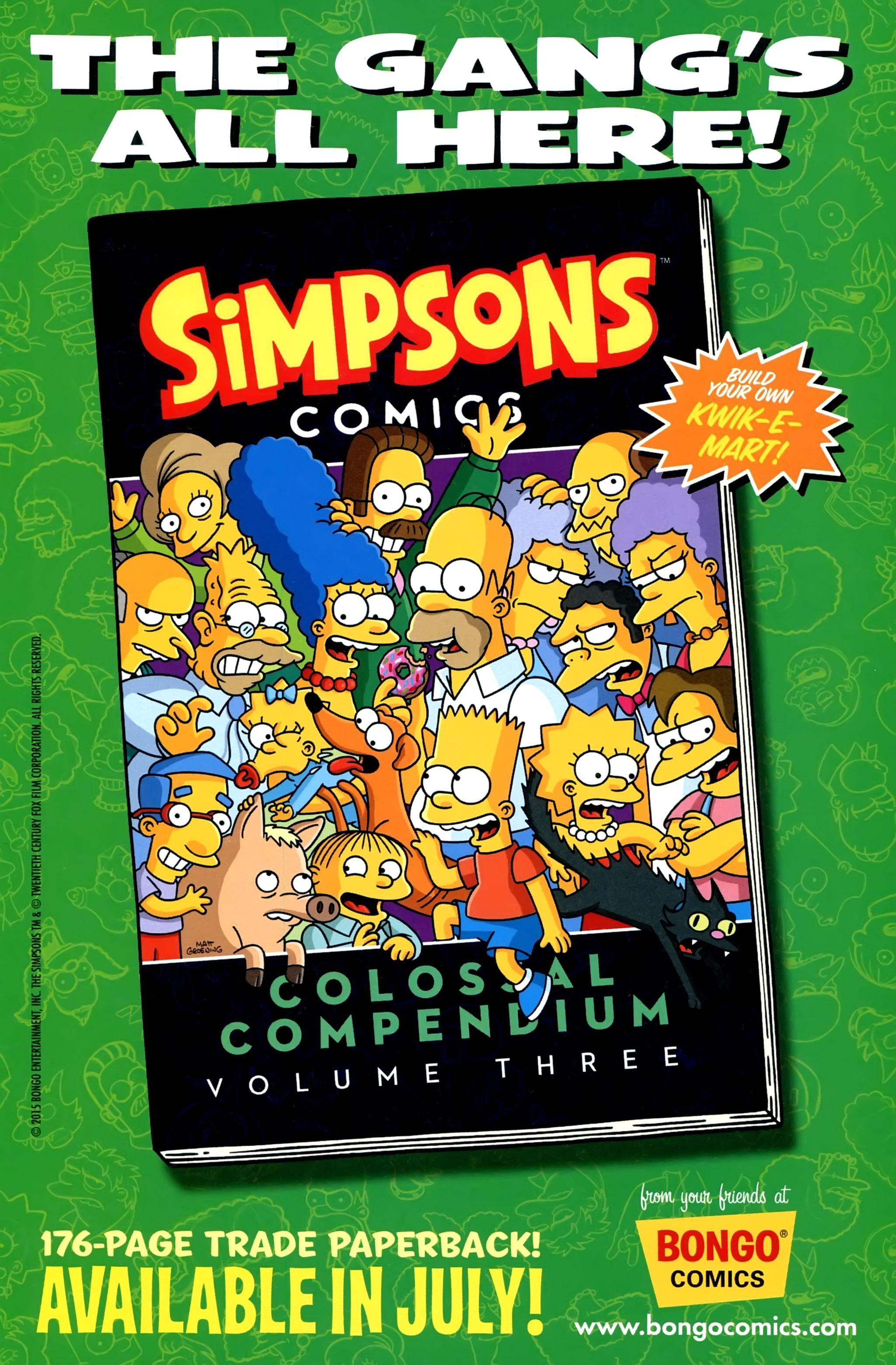 Read online Simpsons Comics comic -  Issue #220 - 31