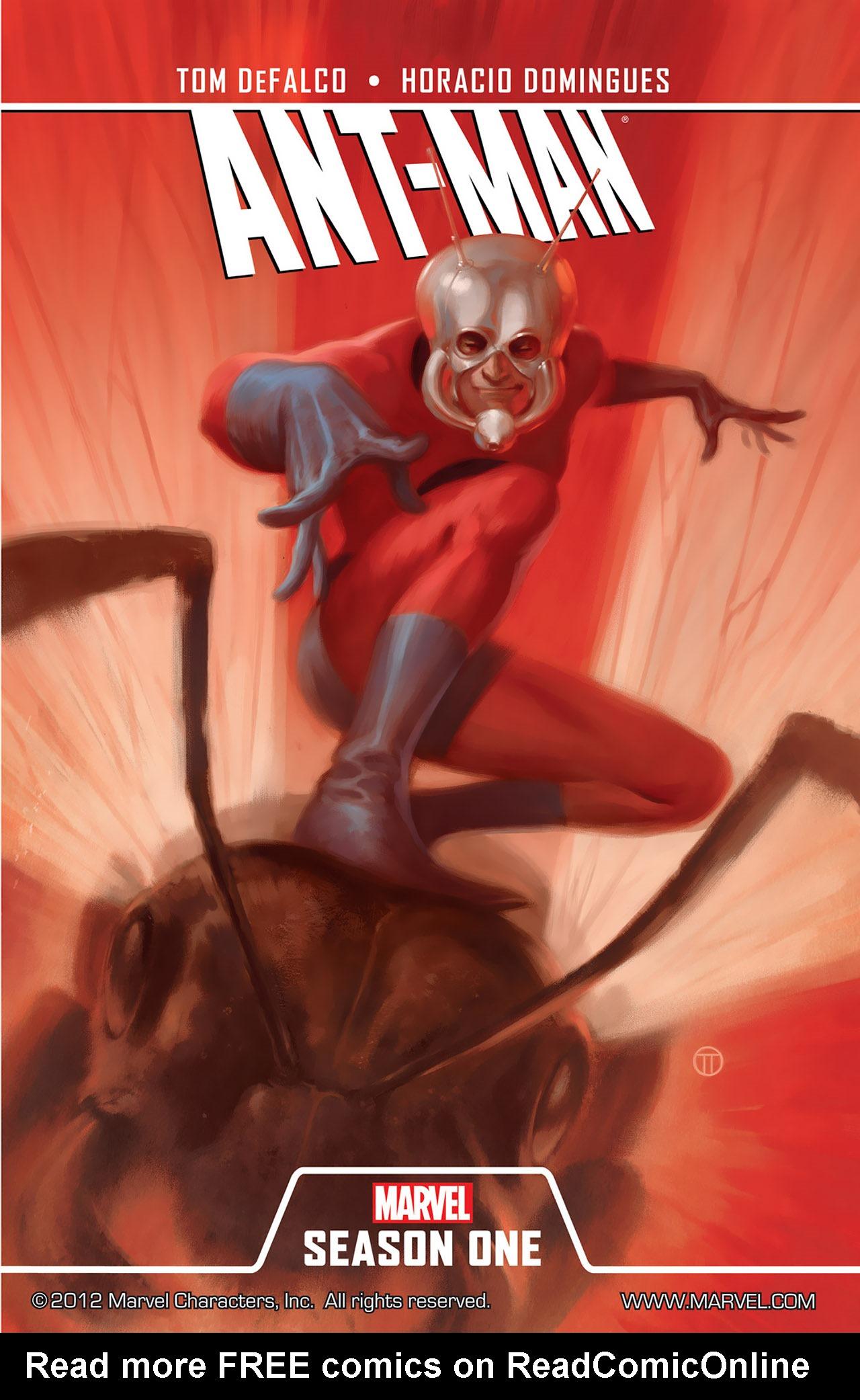 Read online Ant-Man: Season One comic -  Issue #Ant-Man: Season One Full - 1