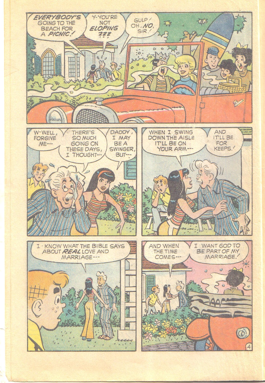 Archie's Love Scene issue Full - Page 6