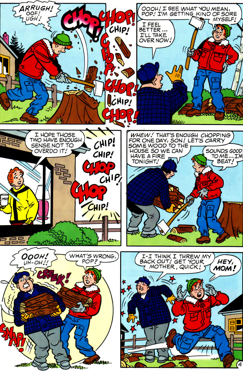 Read online Archie (1960) comic -  Issue #562 - 16