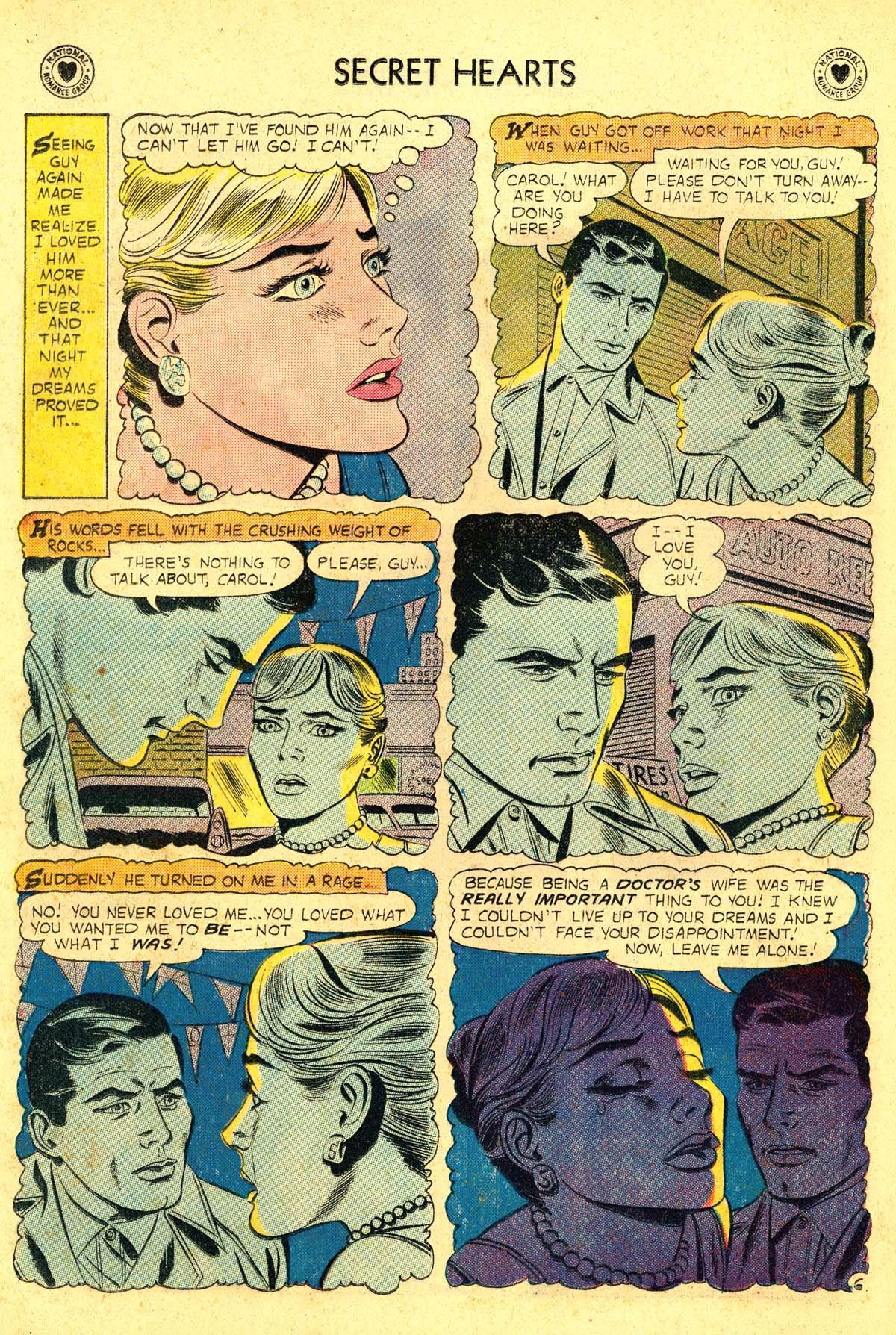 Read online Secret Hearts comic -  Issue #54 - 8