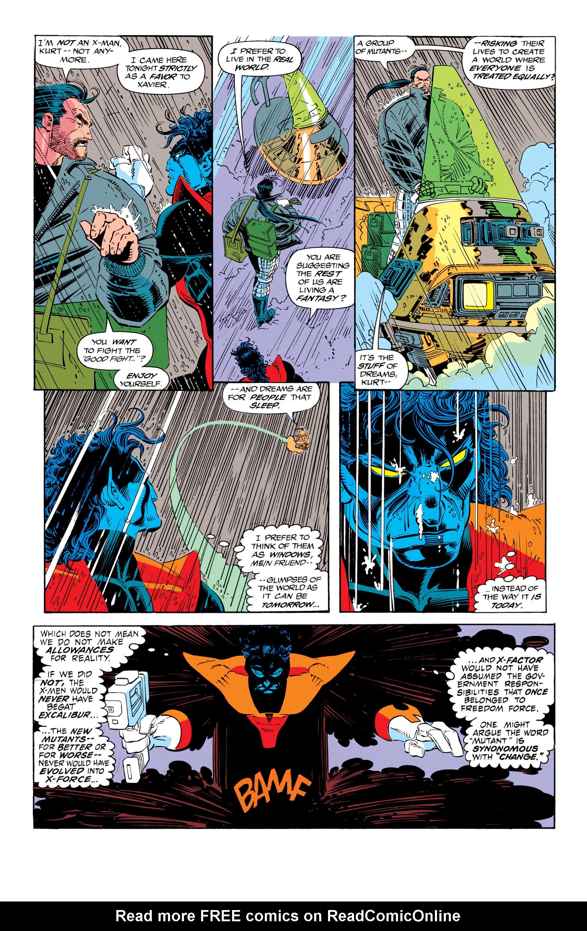 Read online Uncanny X-Men (1963) comic -  Issue #300 - 6