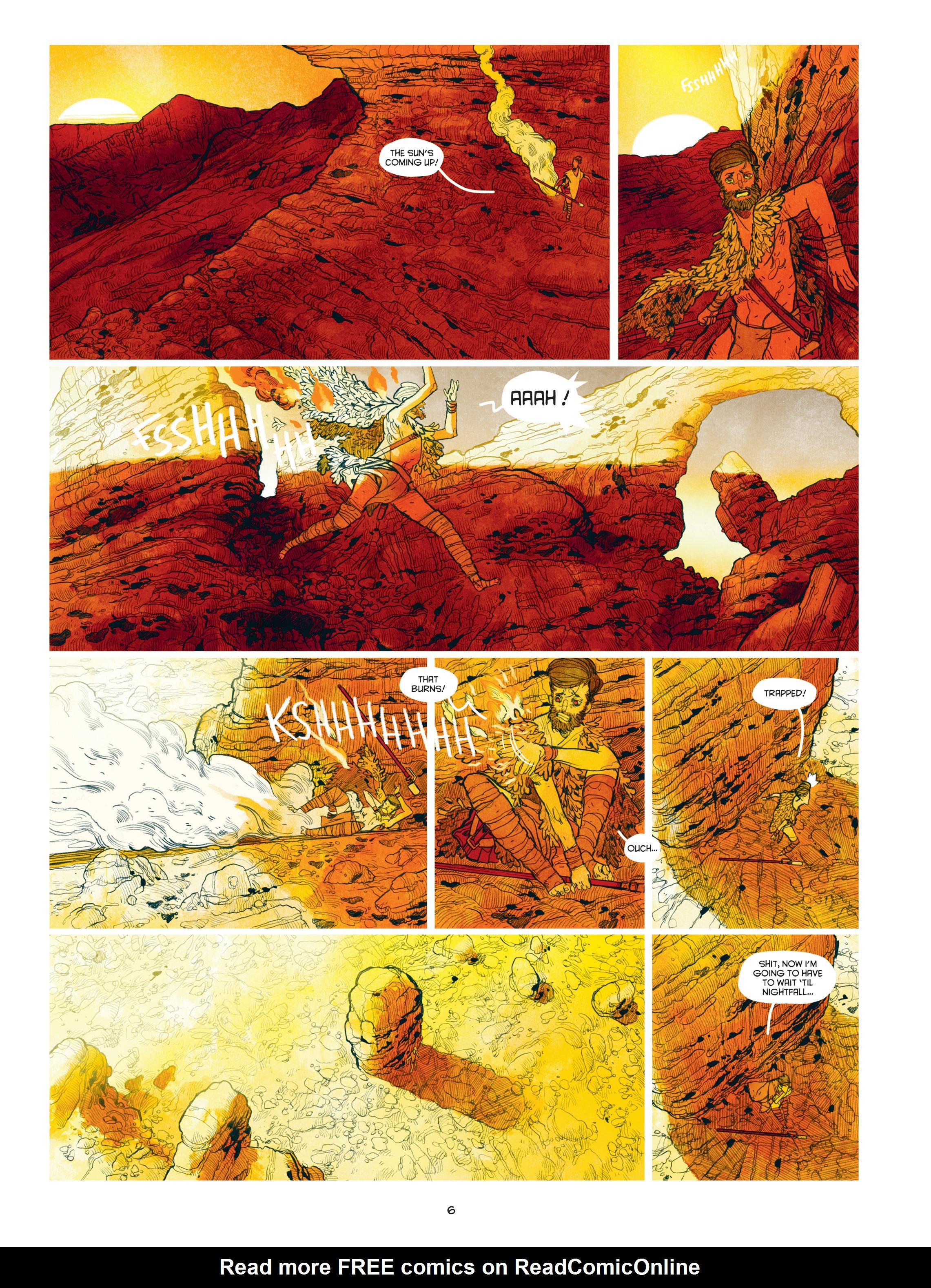 Read online Shangri-La comic -  Issue # Full - 8