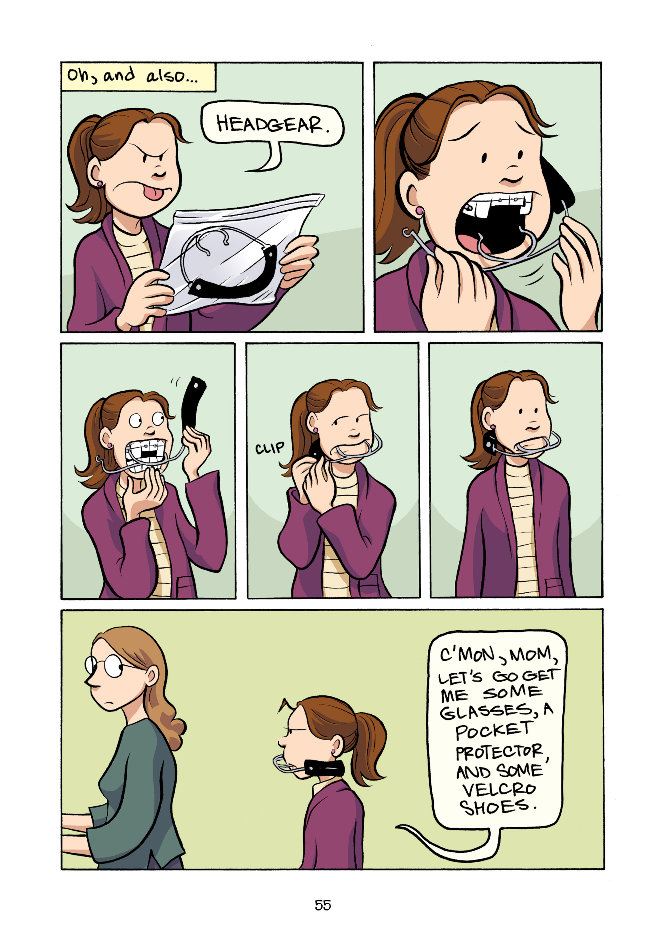 Read online Smile comic -  Issue # TPB - 61