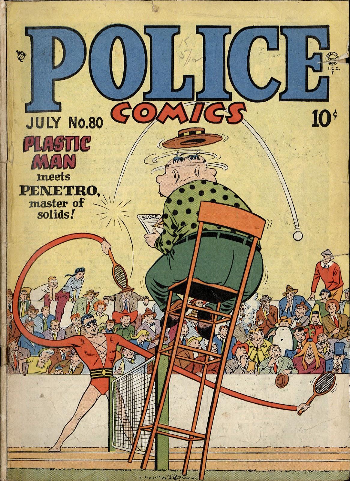 Police Comics 80 Page 1