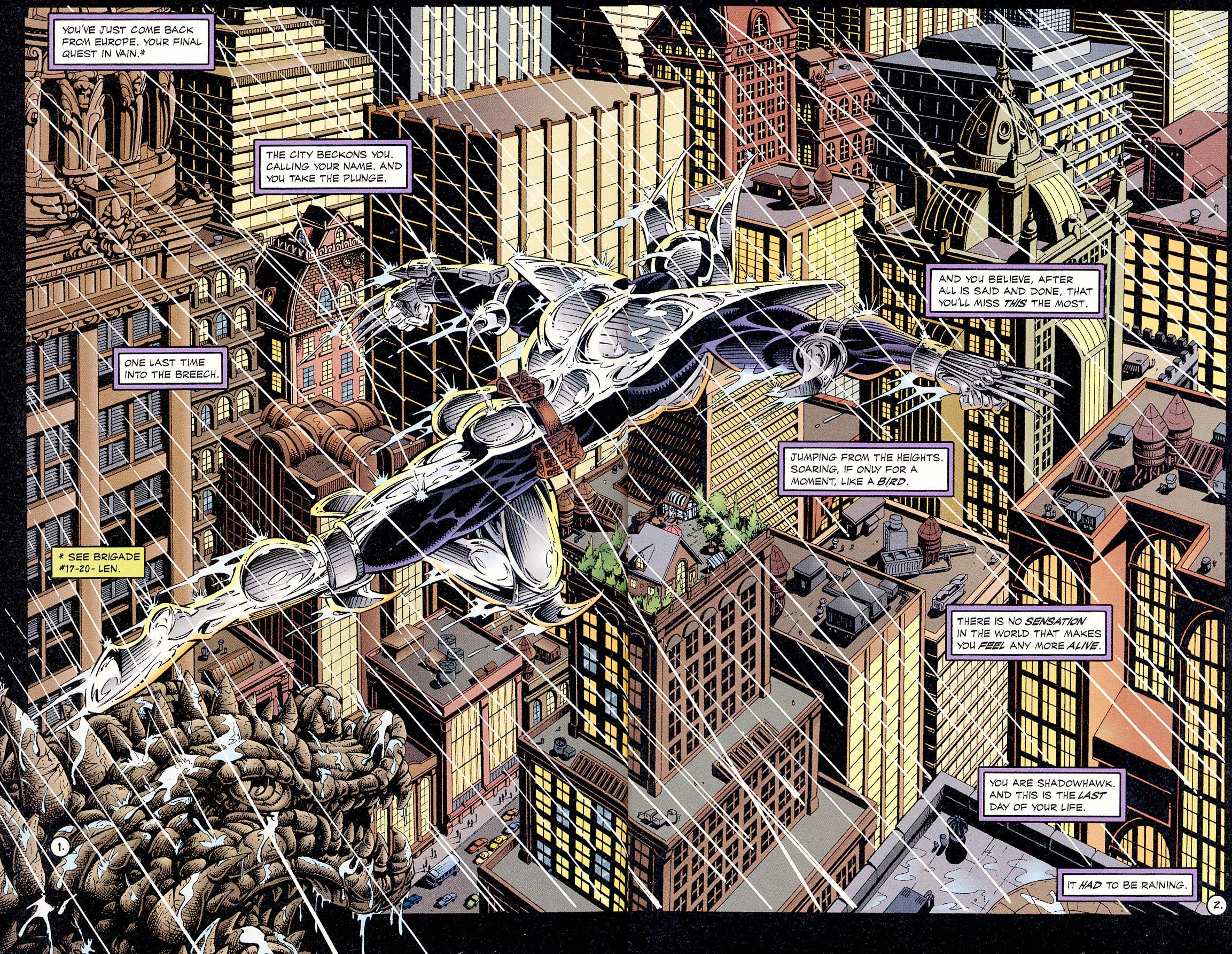 Read online ShadowHawk comic -  Issue #18 - 4