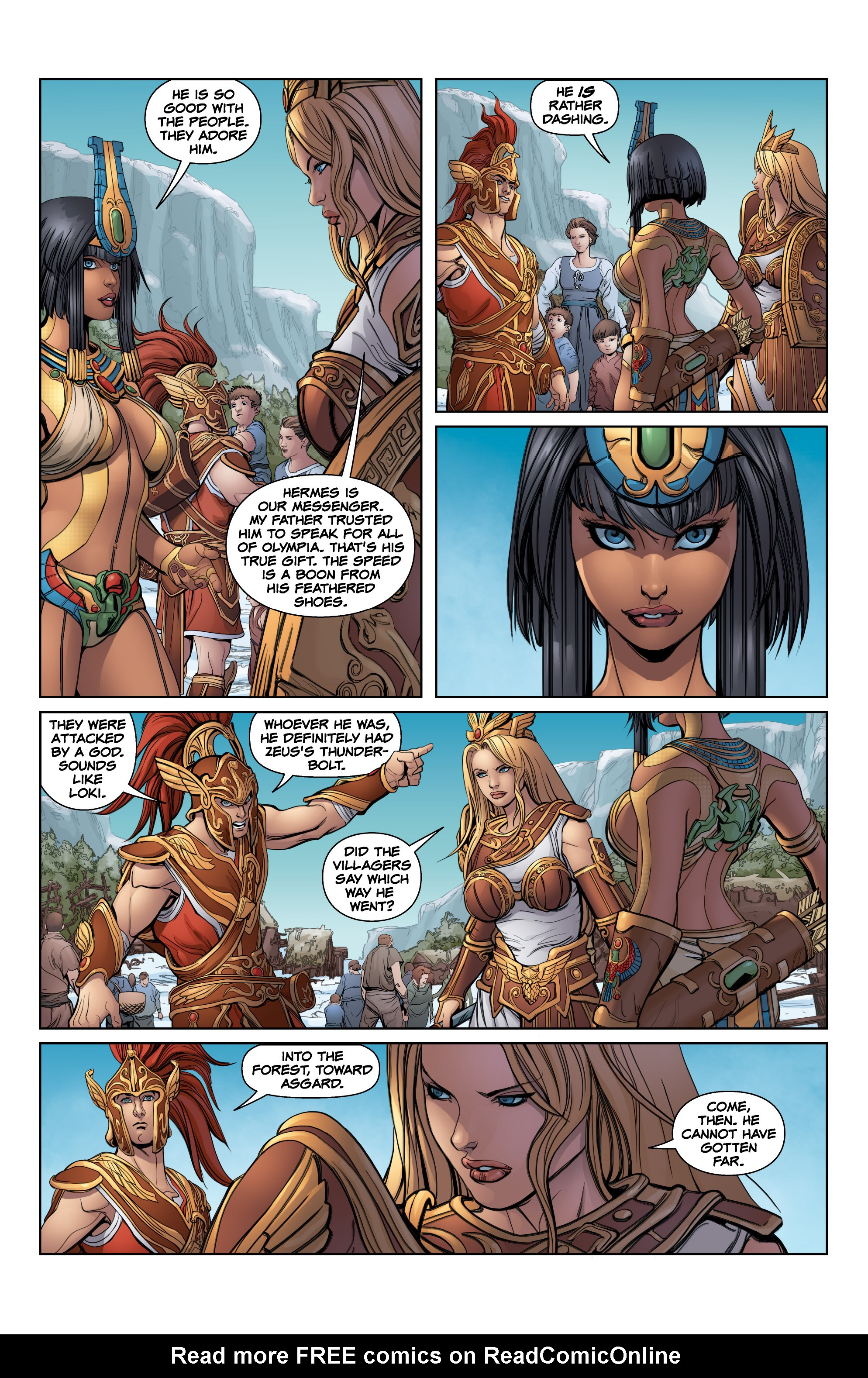 Read online SMITE: The Pantheon War comic -  Issue #2 - 19