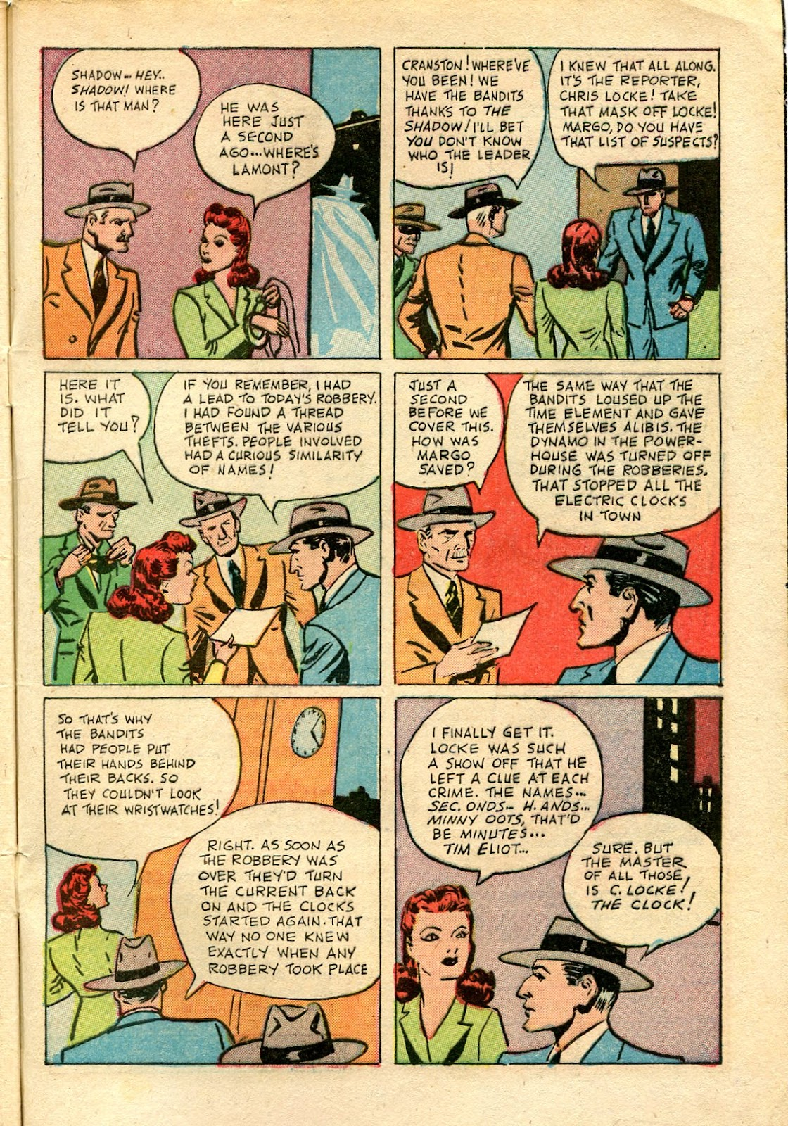 Shadow Comics issue 81 - Page 49