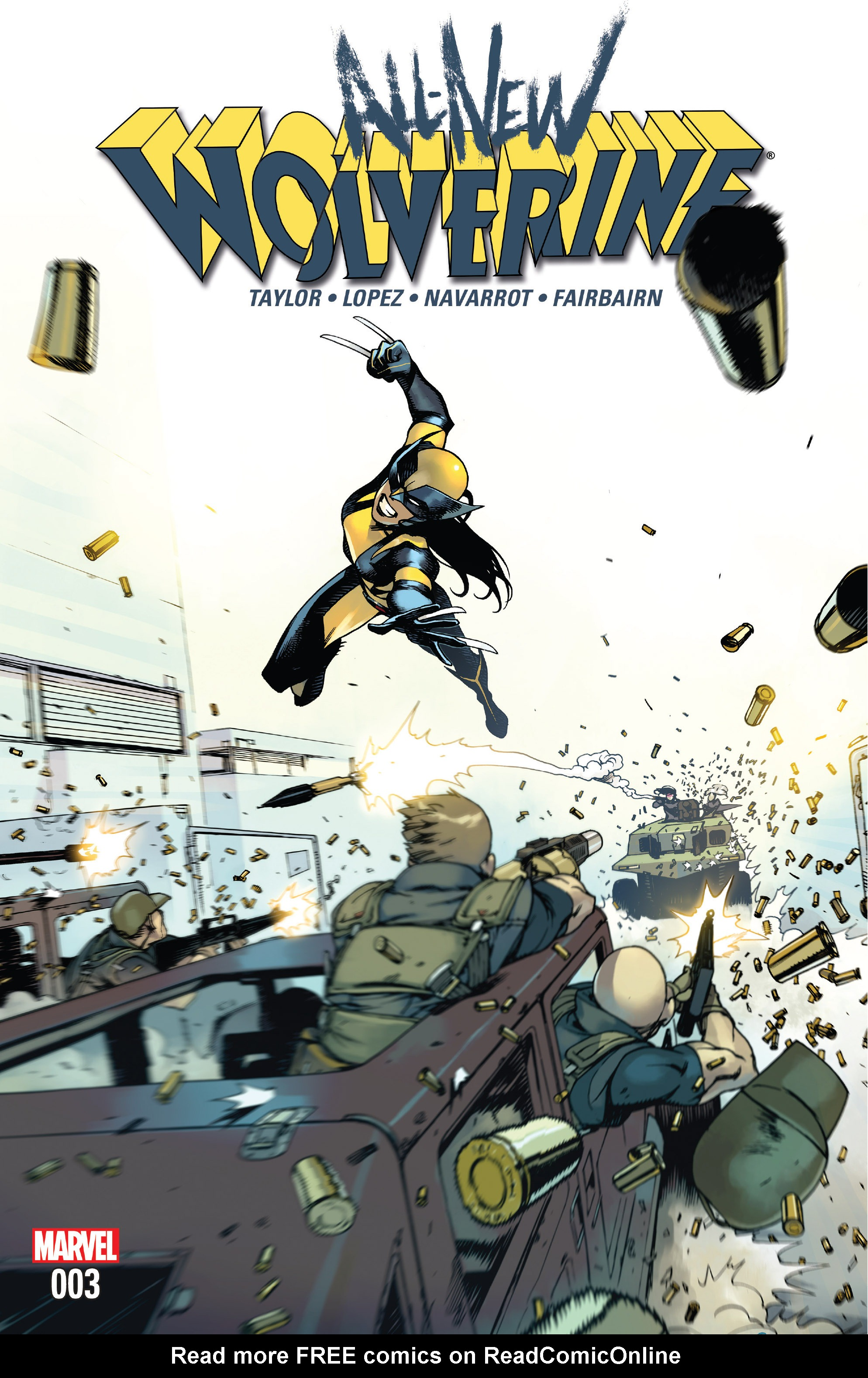 Read online All-New Wolverine (2016) comic -  Issue #3 - 1