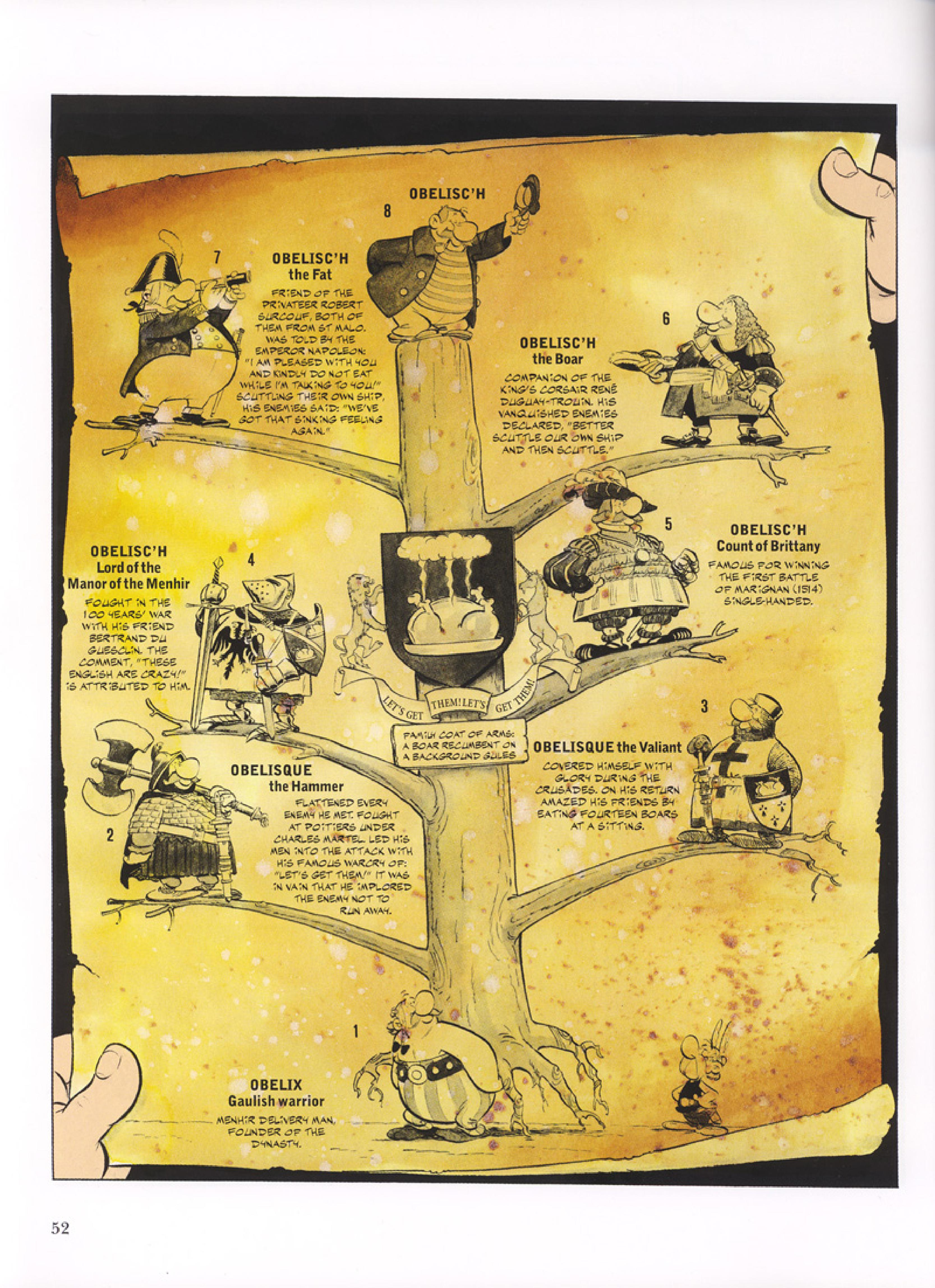 Read online Asterix comic -  Issue #32 - 53