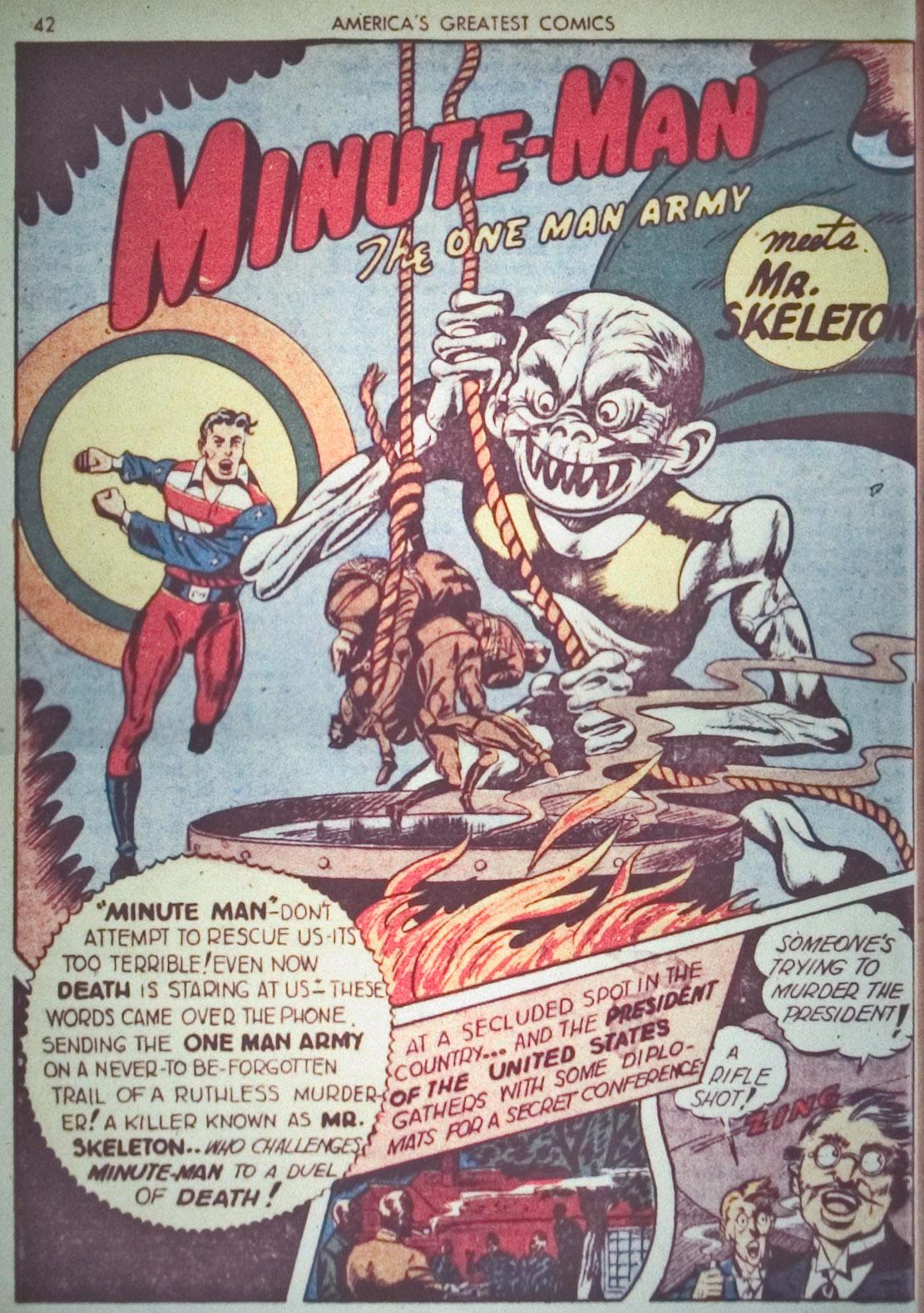Read online America's Greatest Comics comic -  Issue #1 - 45