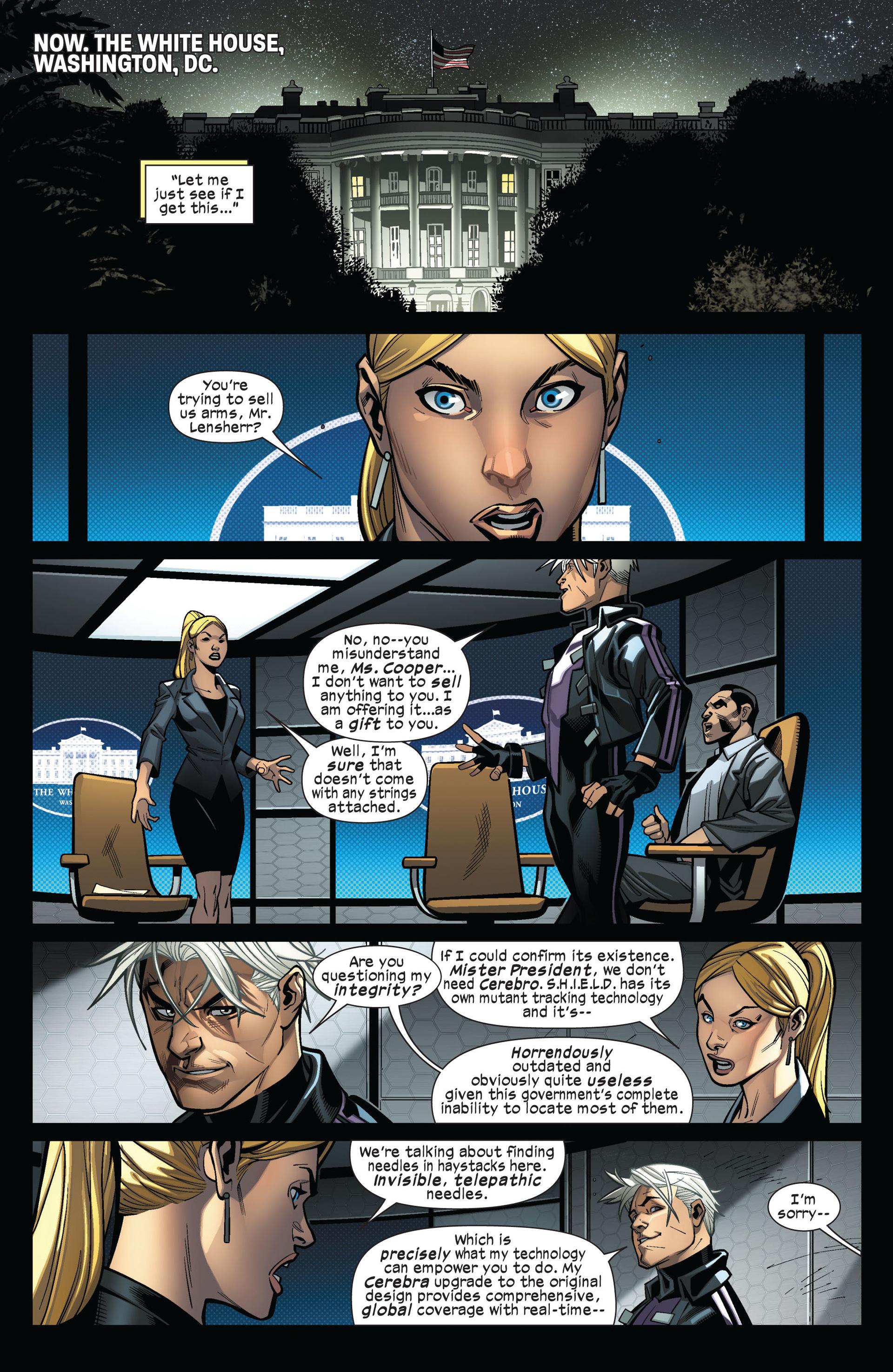 Read online Ultimate Comics X-Men comic -  Issue #4 - 11