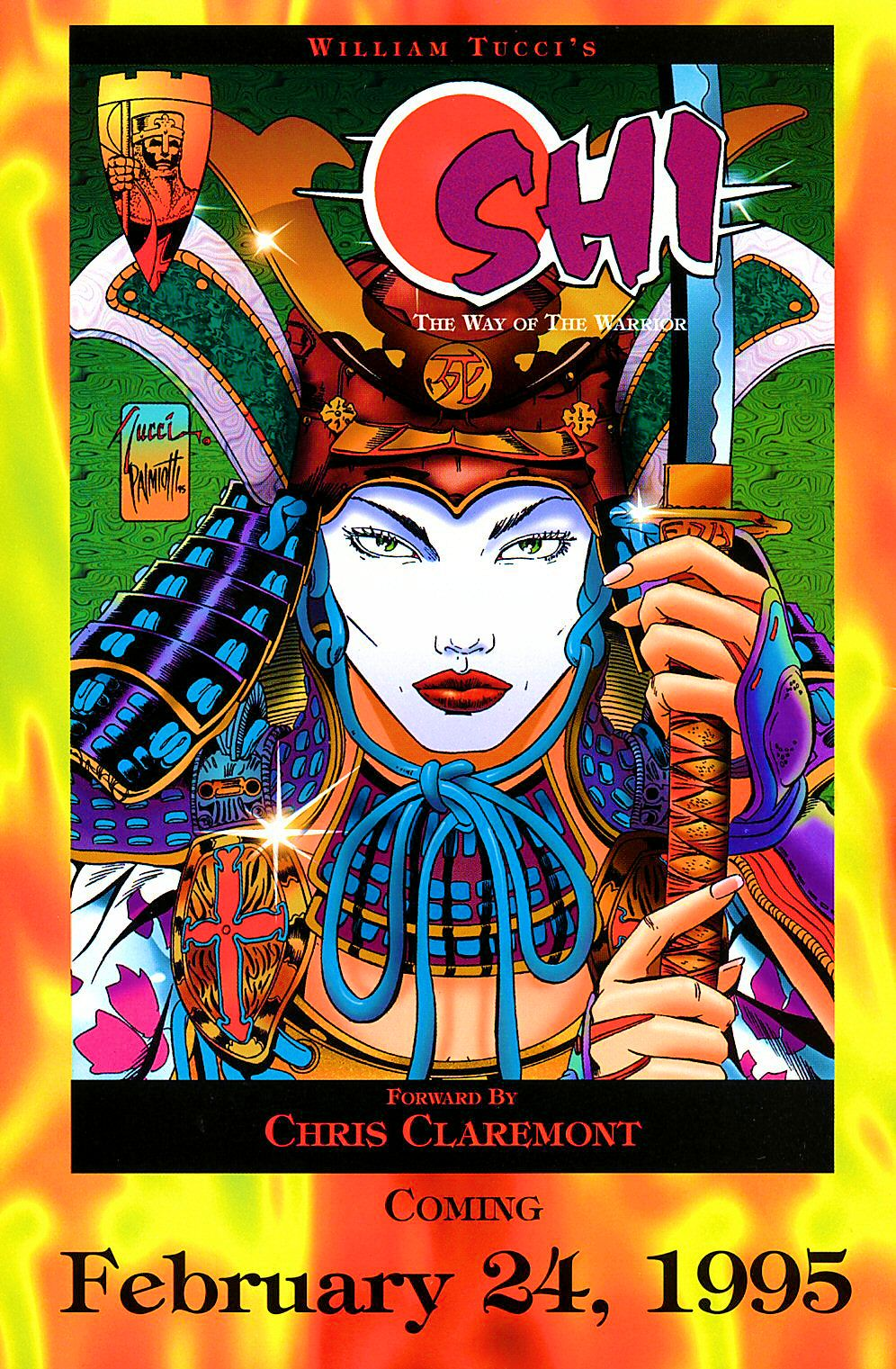 Read online Shi: The Way of the Warrior comic -  Issue #4 - 4