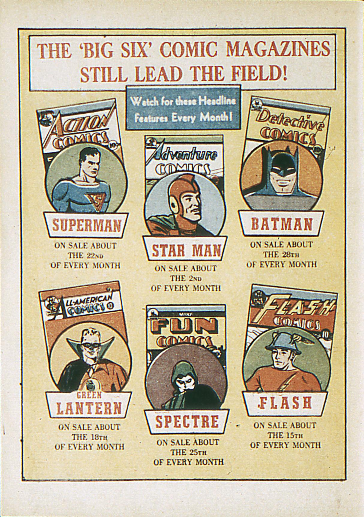 Read online Adventure Comics (1938) comic -  Issue #62 - 67