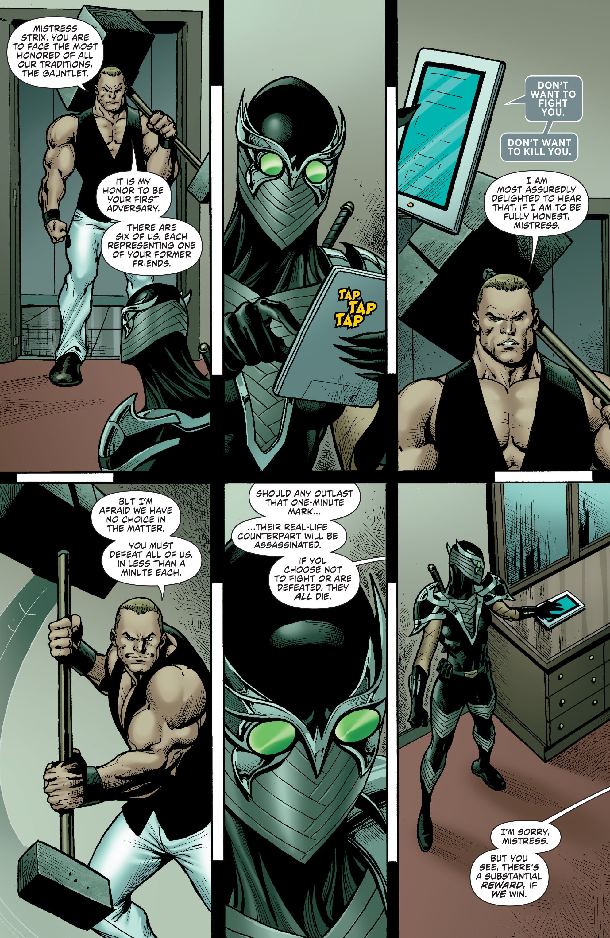 Read online Secret Six (2015) comic -  Issue #13 - 14