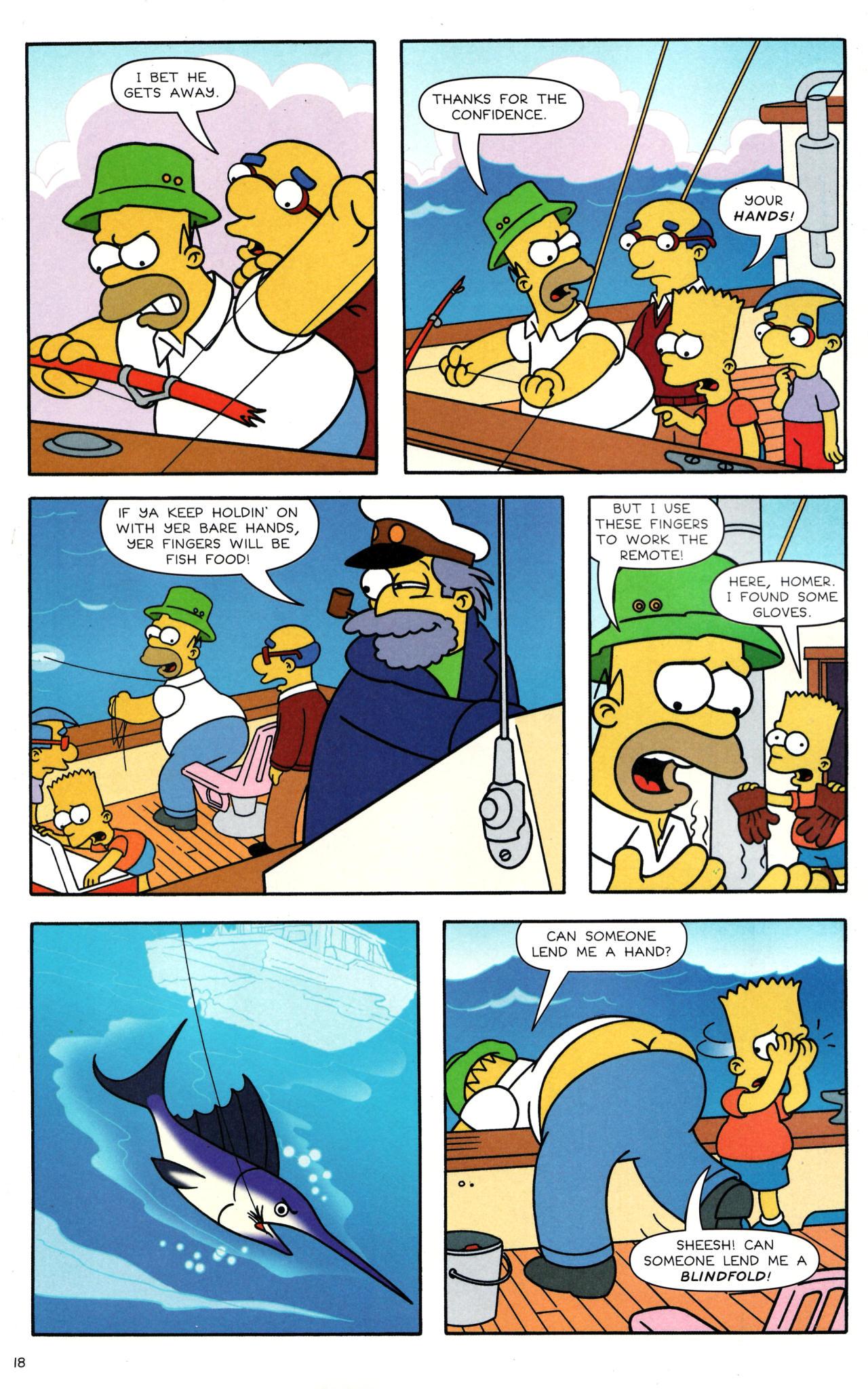 Read online Simpsons Comics comic -  Issue #135 - 15