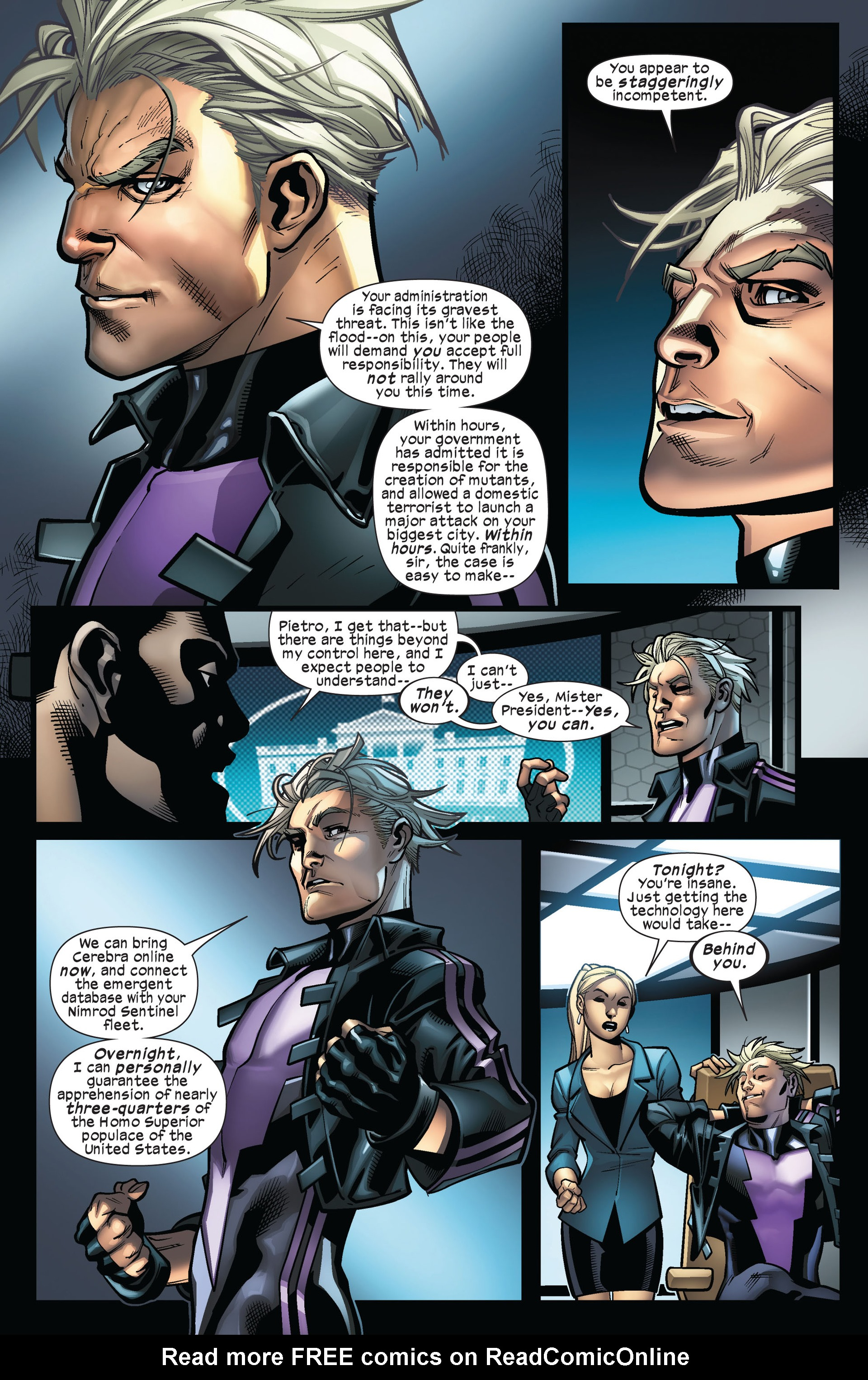 Read online Ultimate Comics X-Men comic -  Issue #5 - 8