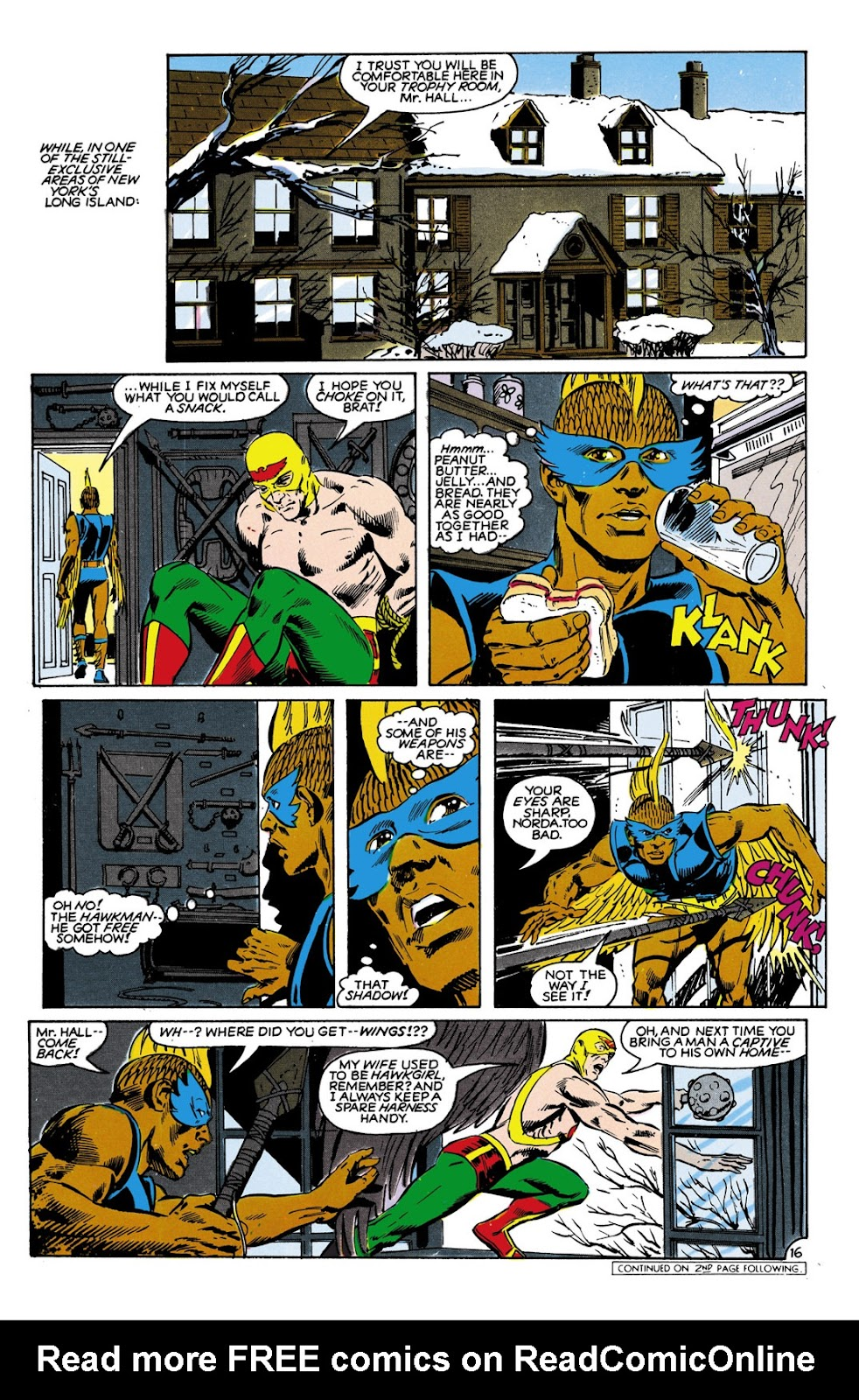 Infinity Inc. (1984) issue 9 - Page 16