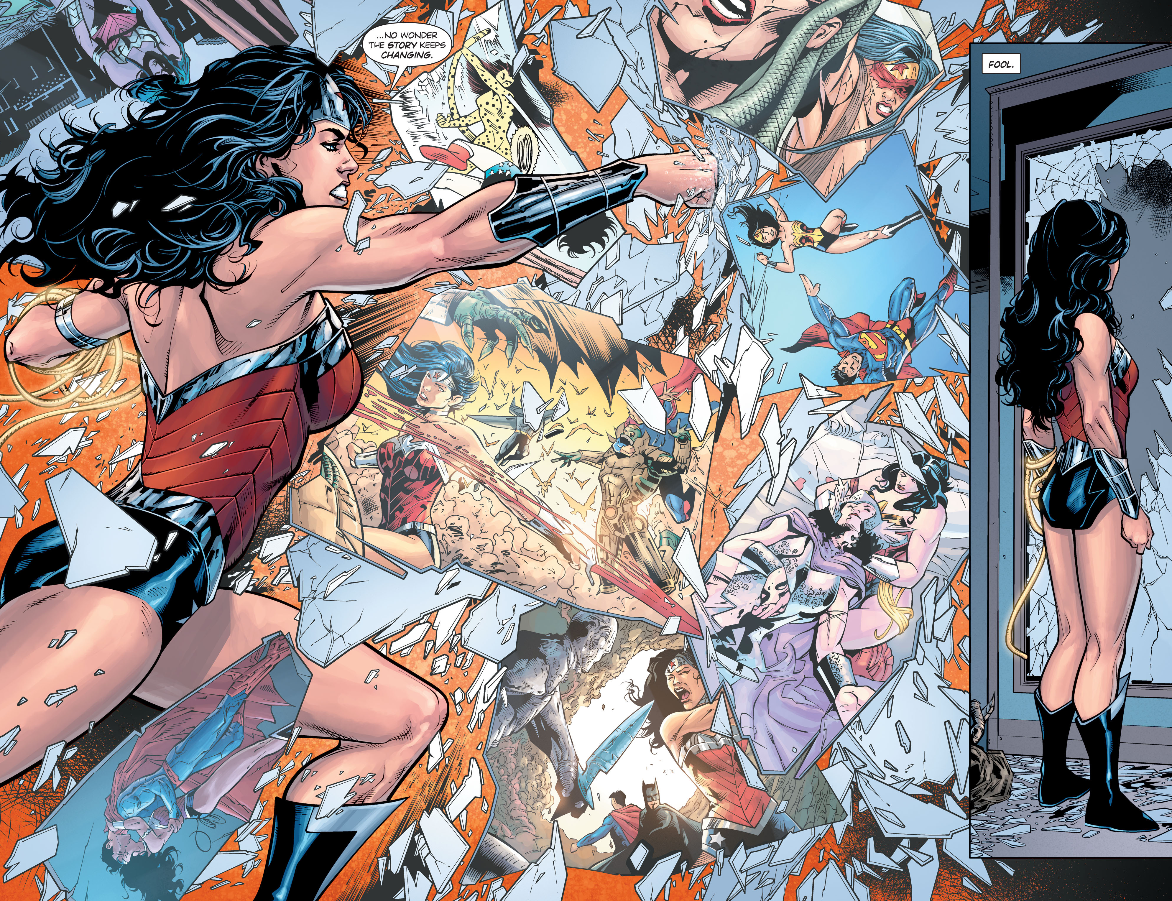Read online Wonder Woman: Rebirth comic -  Issue # Full - 15