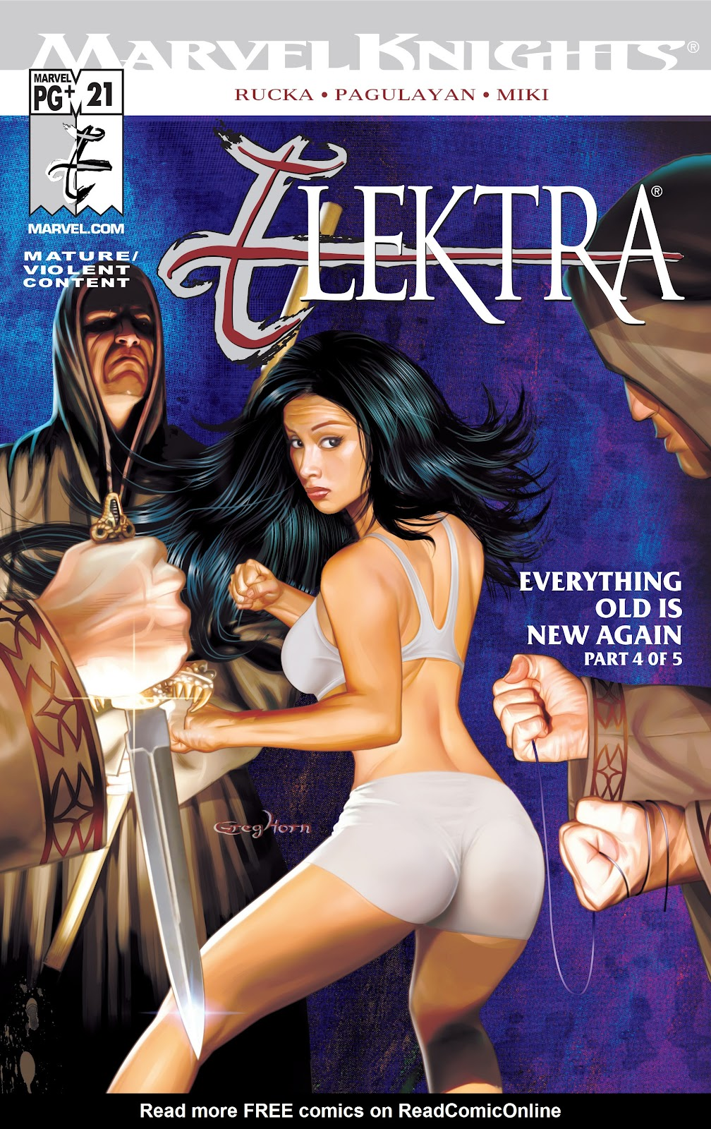 Read online Elektra (2001) comic -  Issue # _TPB Elektra by Greg Rucka Ultimate Collection (Part 4) - 31